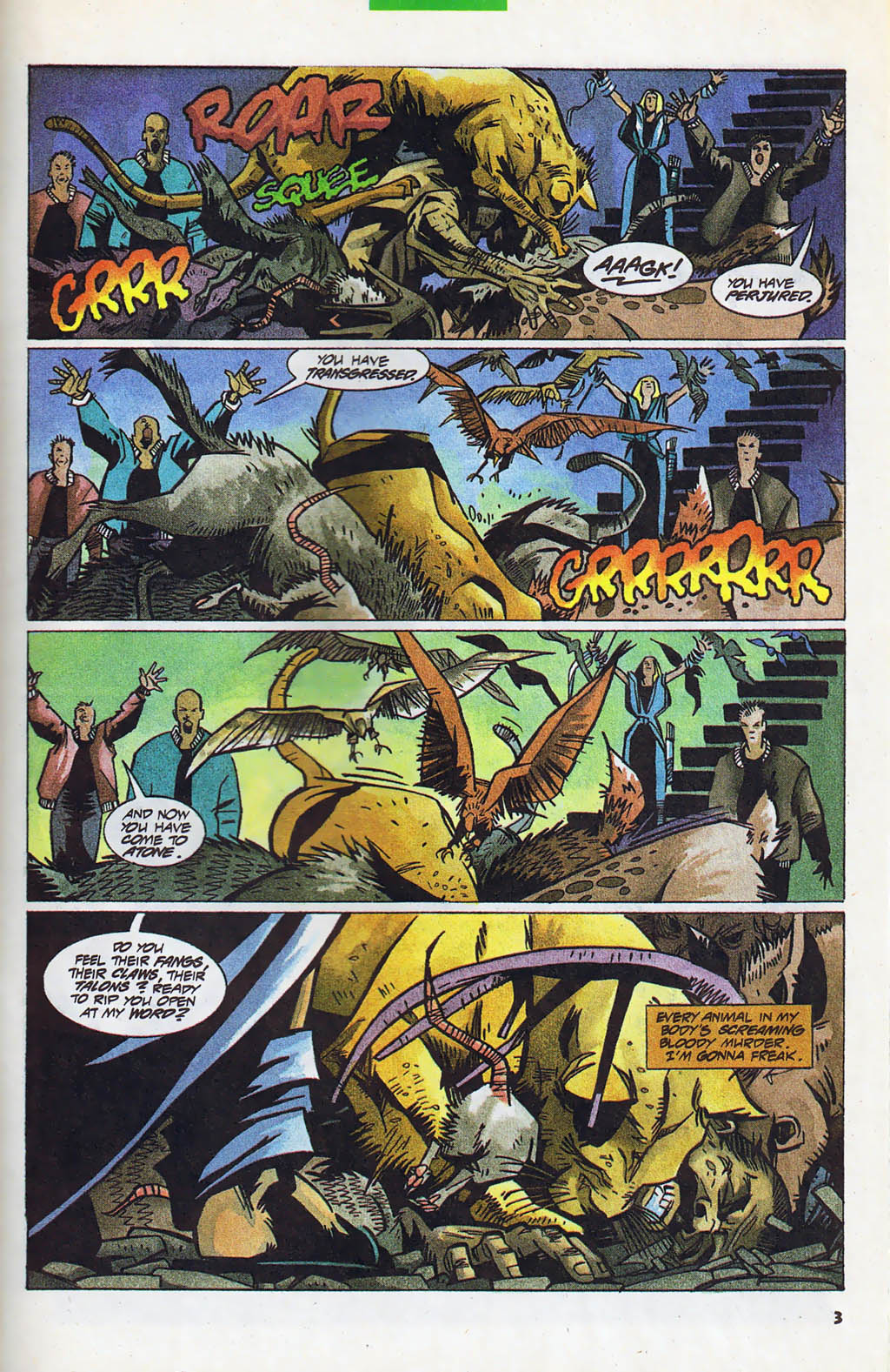 Read online Shadow Cabinet comic -  Issue #4 - 4
