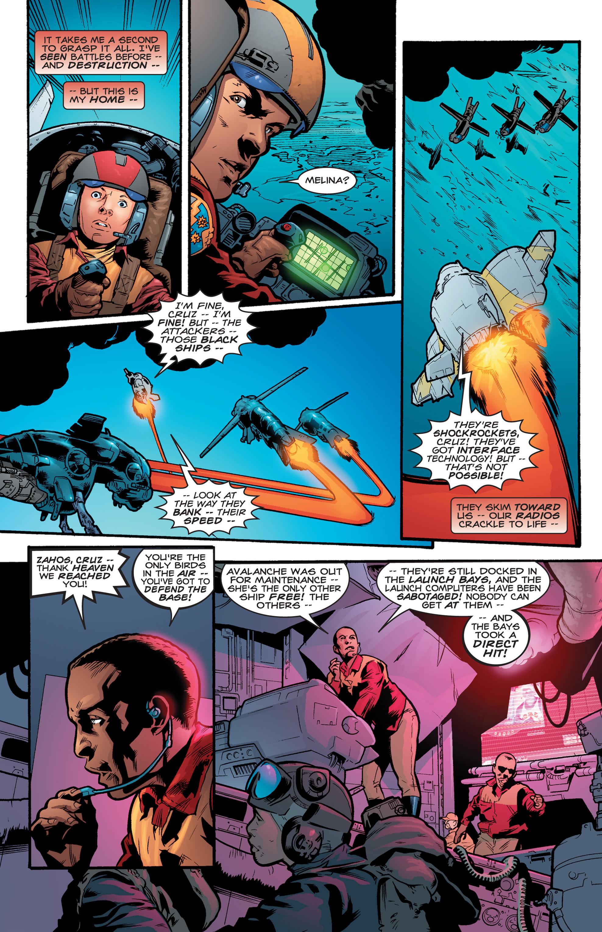 Read online Shockrockets comic -  Issue # TPB - 110