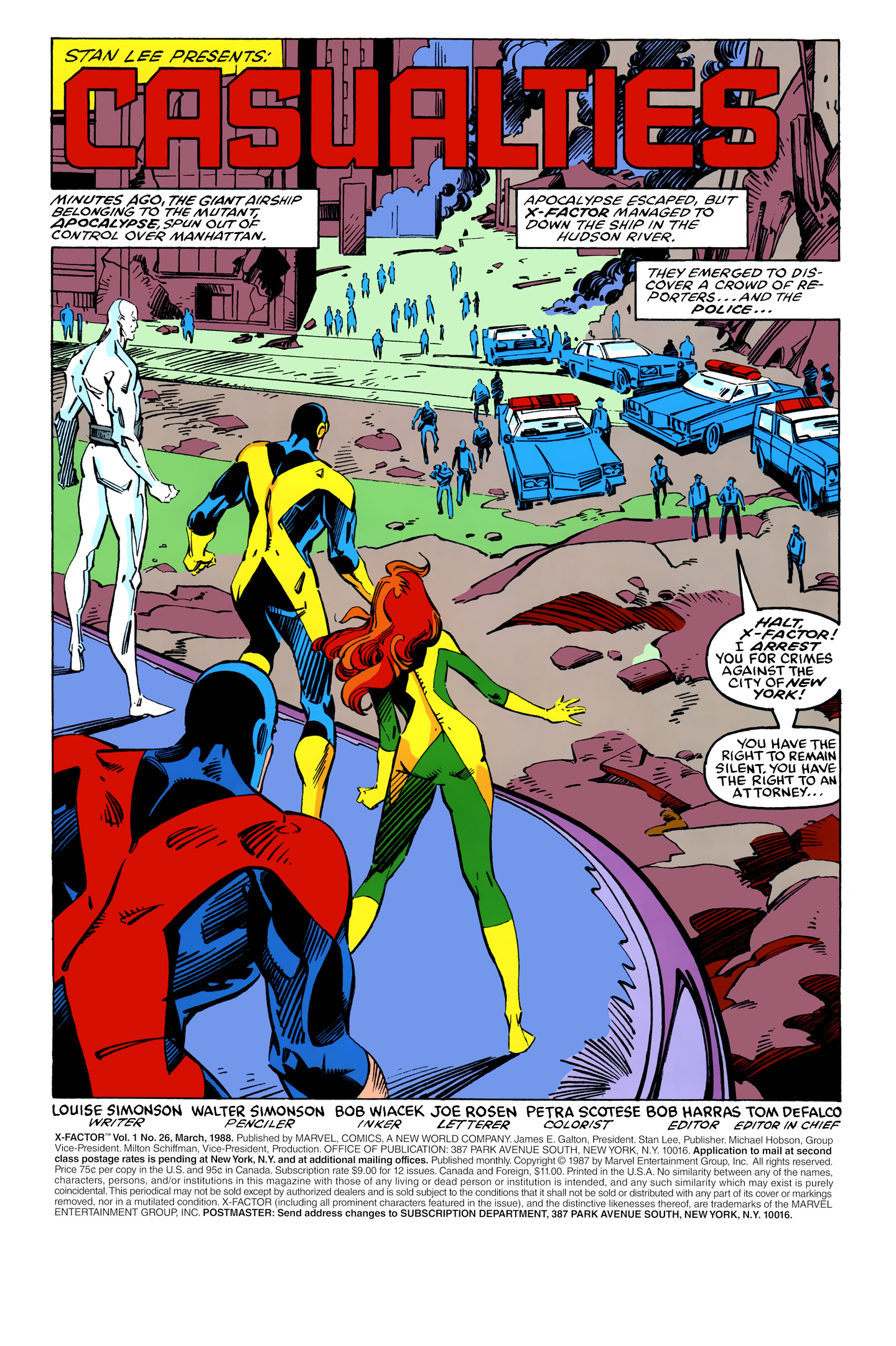 Read online X-Factor (1986) comic -  Issue #26 - 2