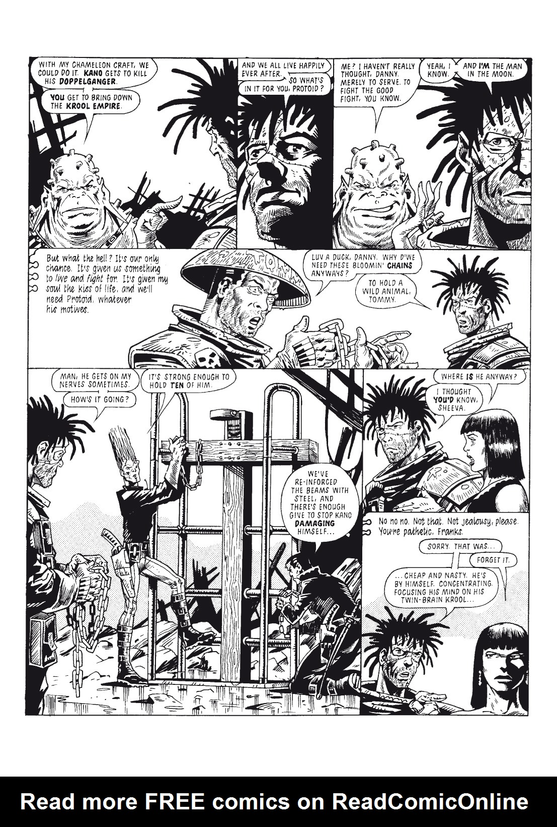 Read online The Complete Bad Company comic -  Issue # TPB - 182