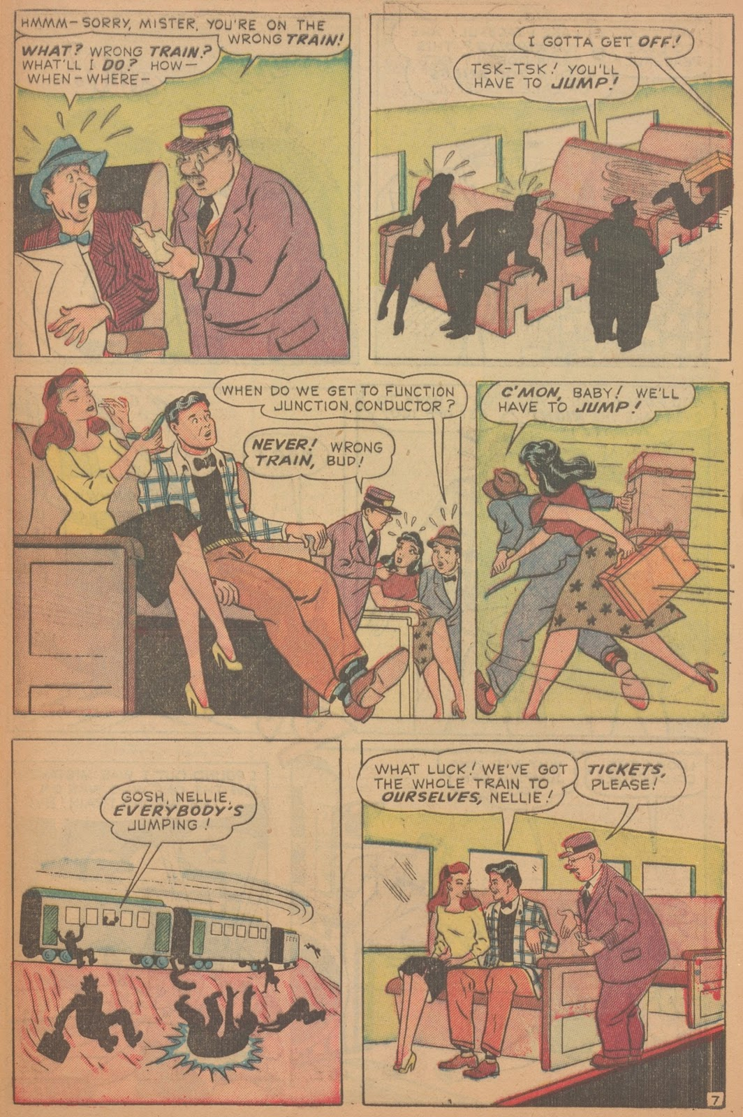 Read online Nellie The Nurse (1945) comic -  Issue #18 - 47