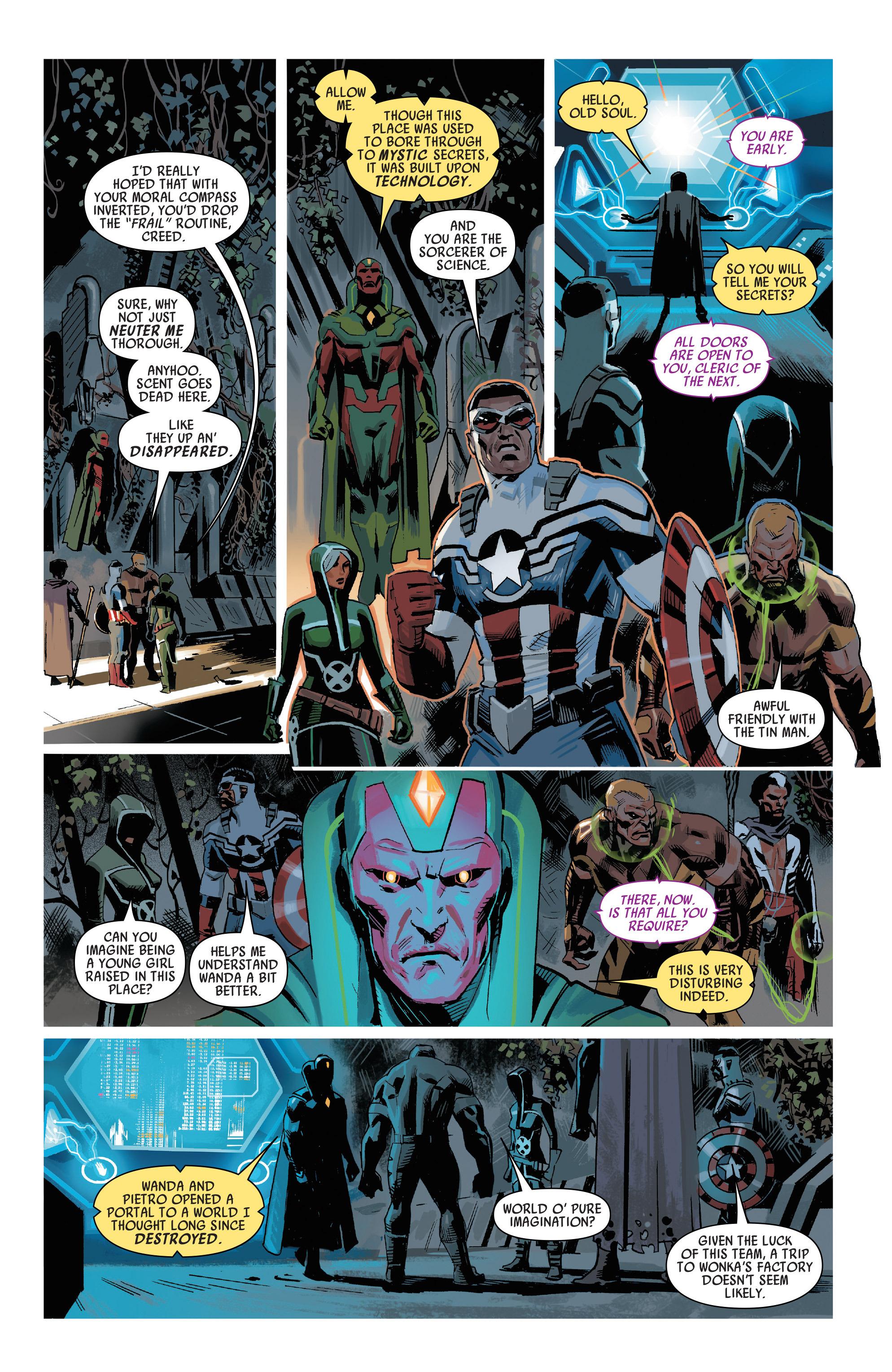Read online Uncanny Avengers [I] comic -  Issue #1 - 12
