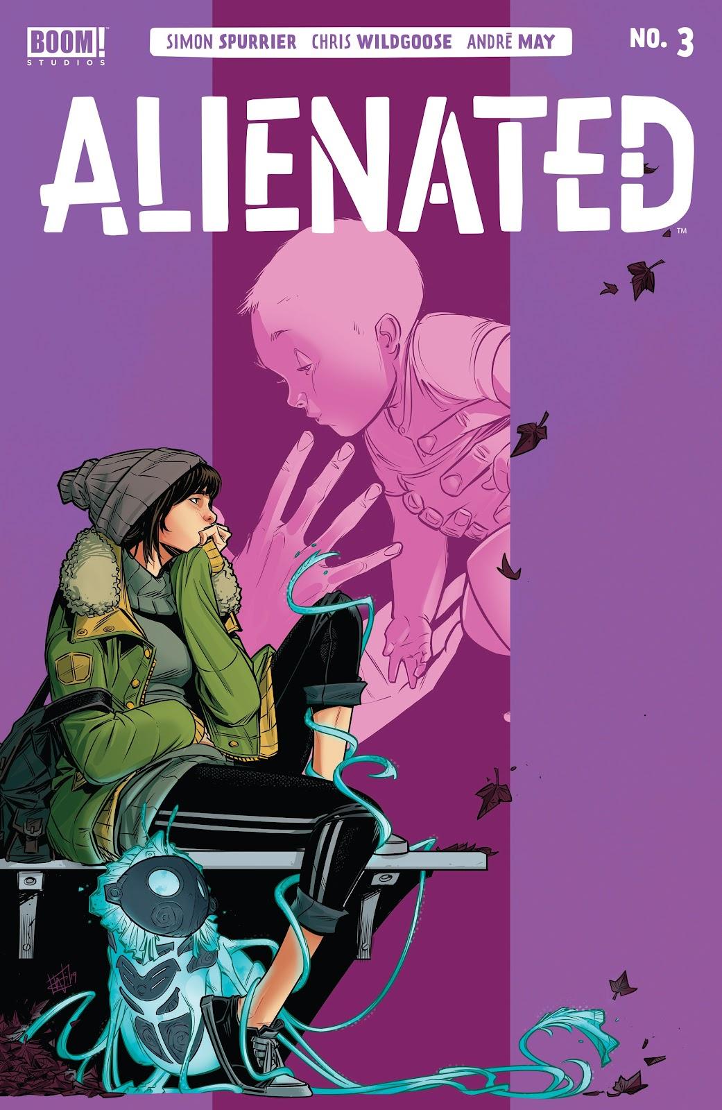 Read online Alienated comic -  Issue #3 - 1