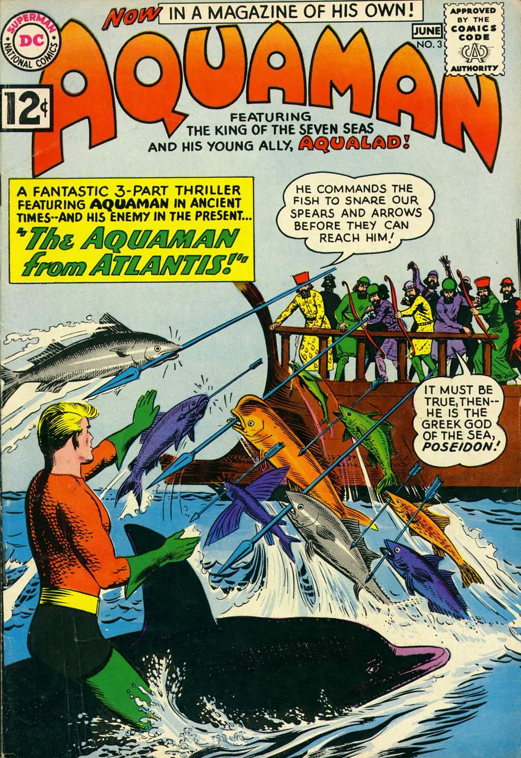 Aquaman (1962) Issue #3 #3 - English 1