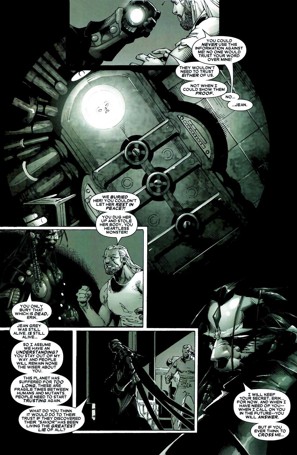 Read online Age of Apocalypse (2005) comic -  Issue #5 - 14