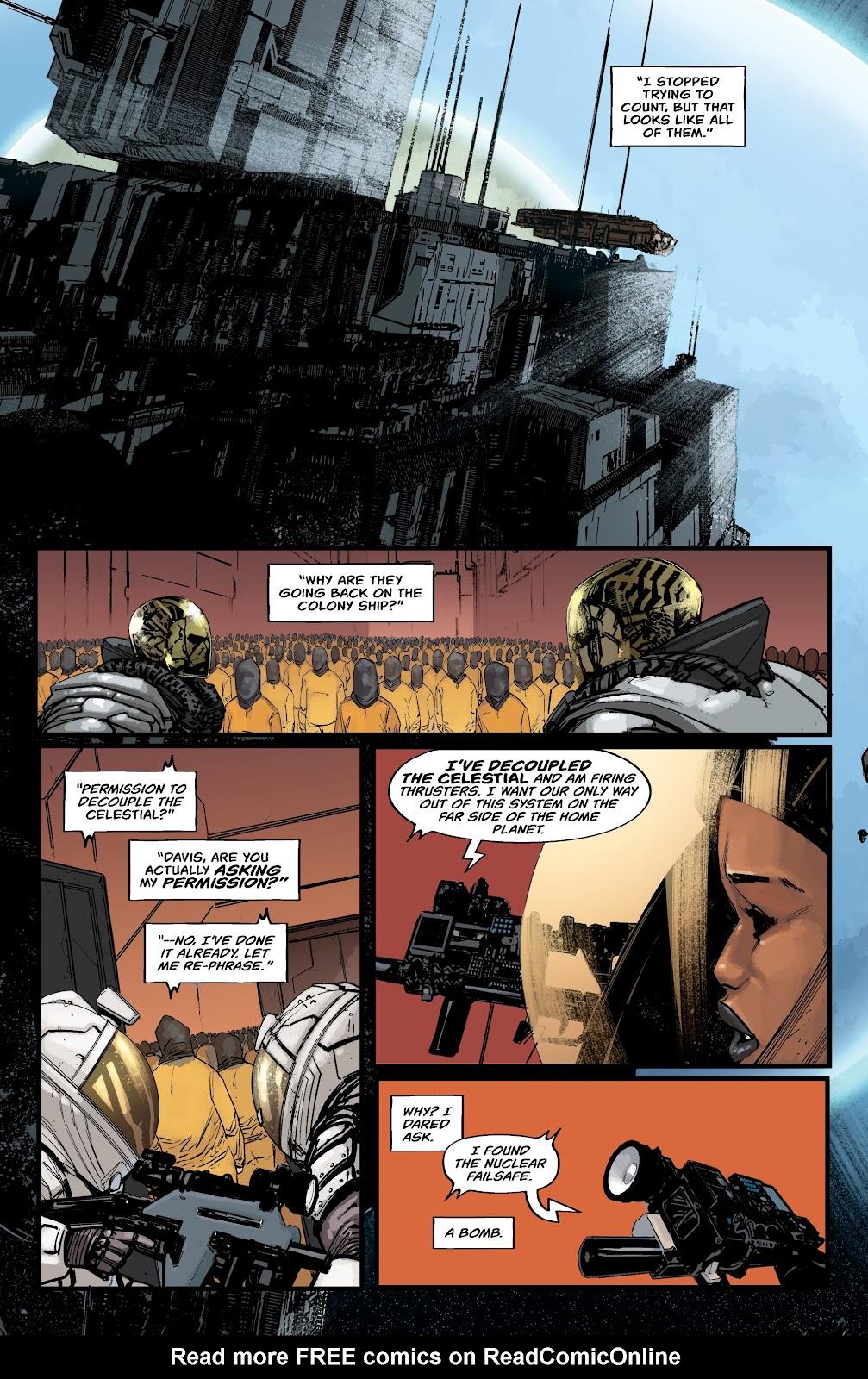 Read online Aliens: Resistance comic -  Issue #2 - 14