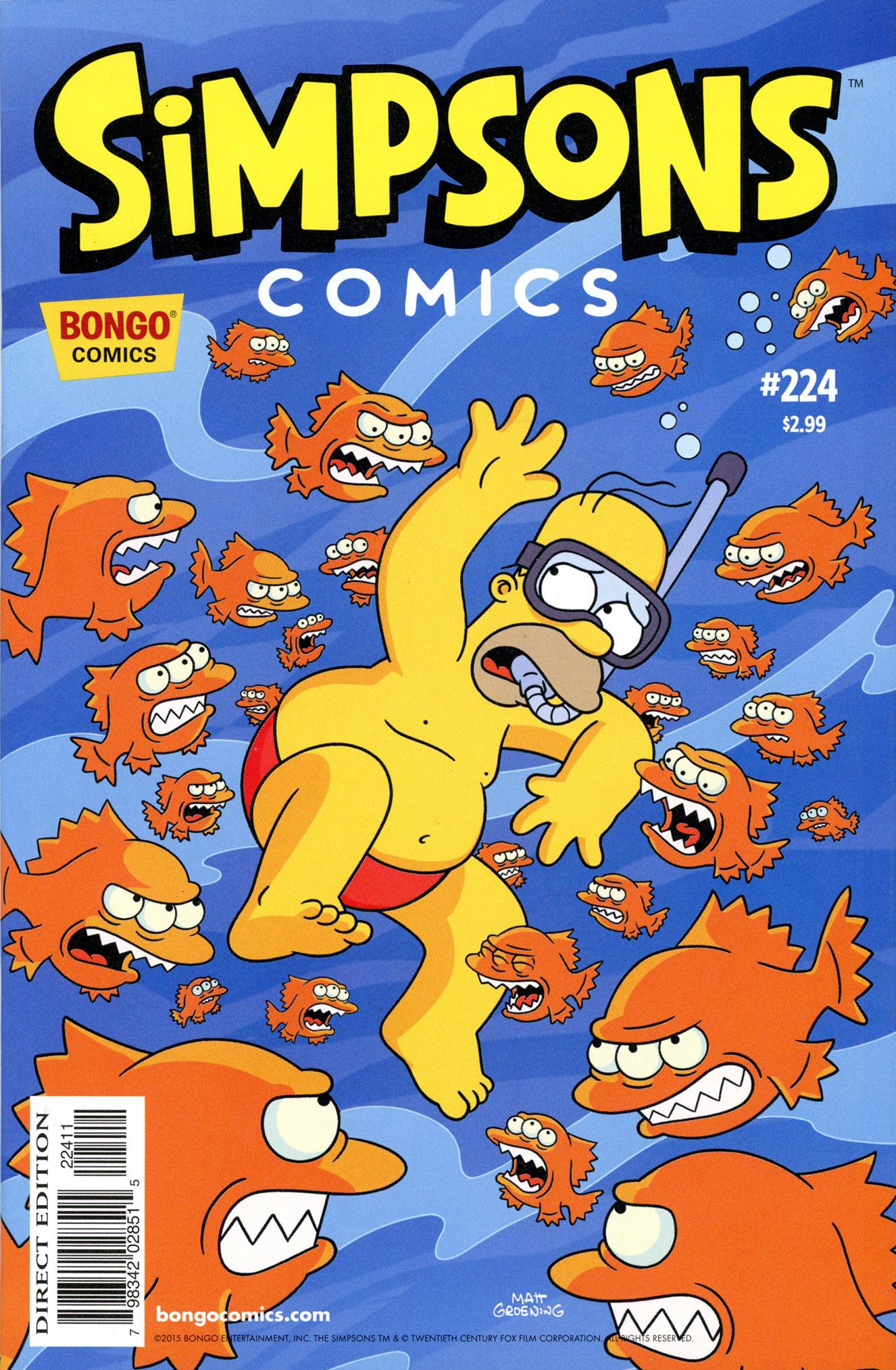 Simpsons Comics 224 Page 1