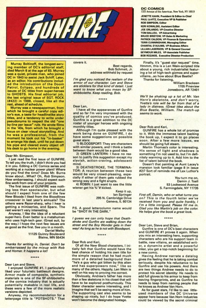 Read online Gunfire comic -  Issue #5 - 31