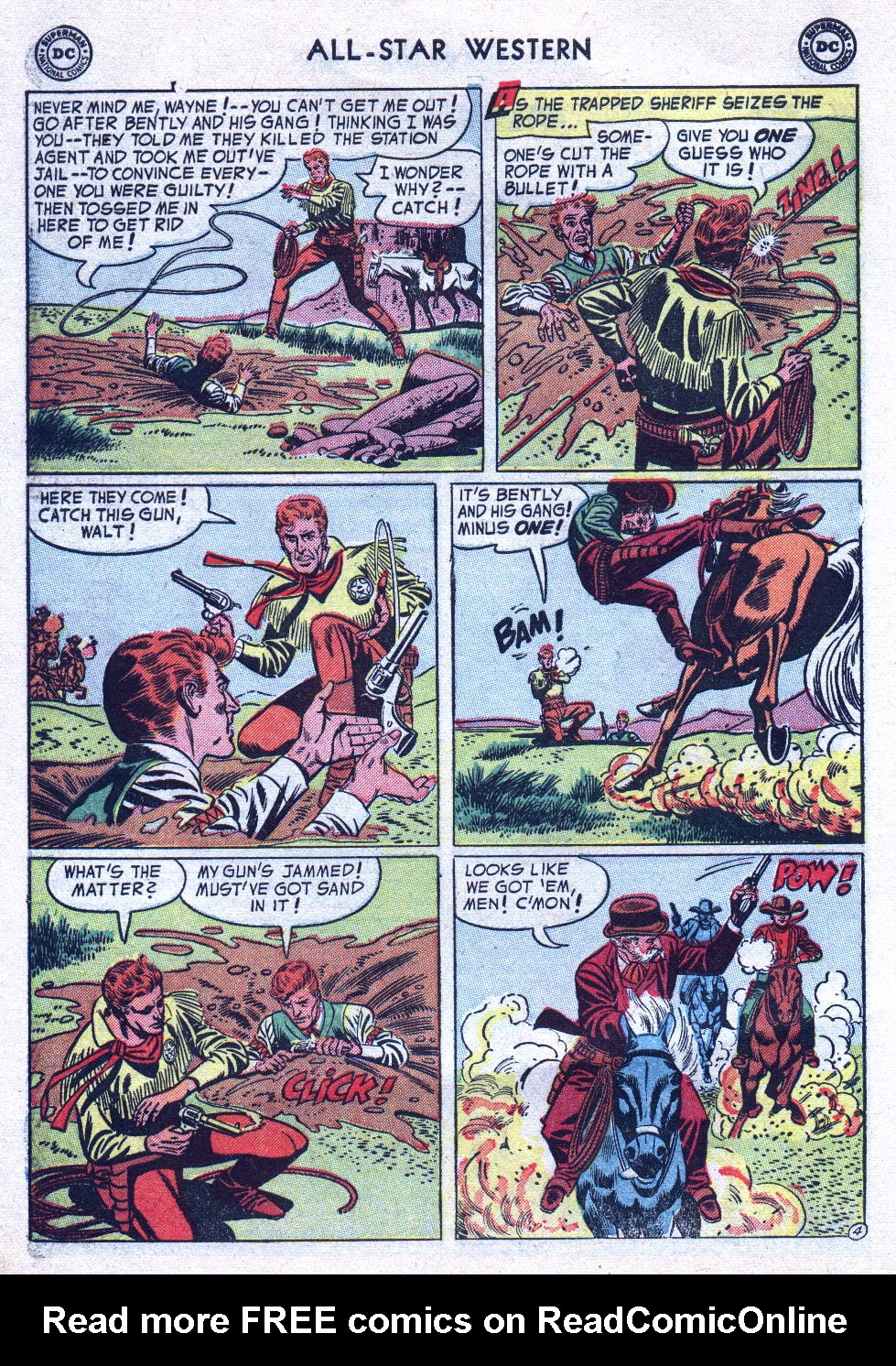 Read online All-Star Western (1951) comic -  Issue #76 - 6