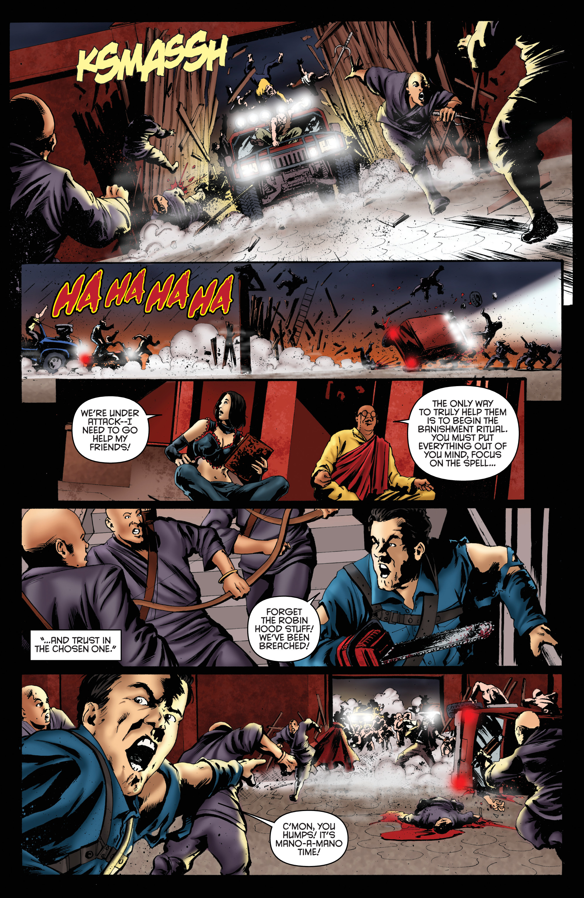 Read online Army of Darkness: Furious Road comic -  Issue #6 - 8