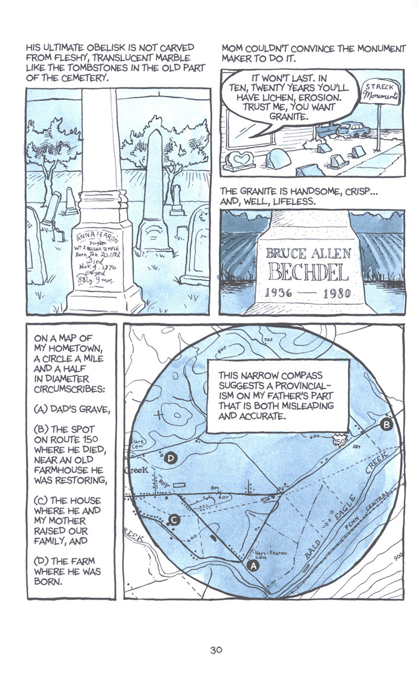 Read online Fun Home: A Family Tragicomic comic -  Issue # TPB - 37