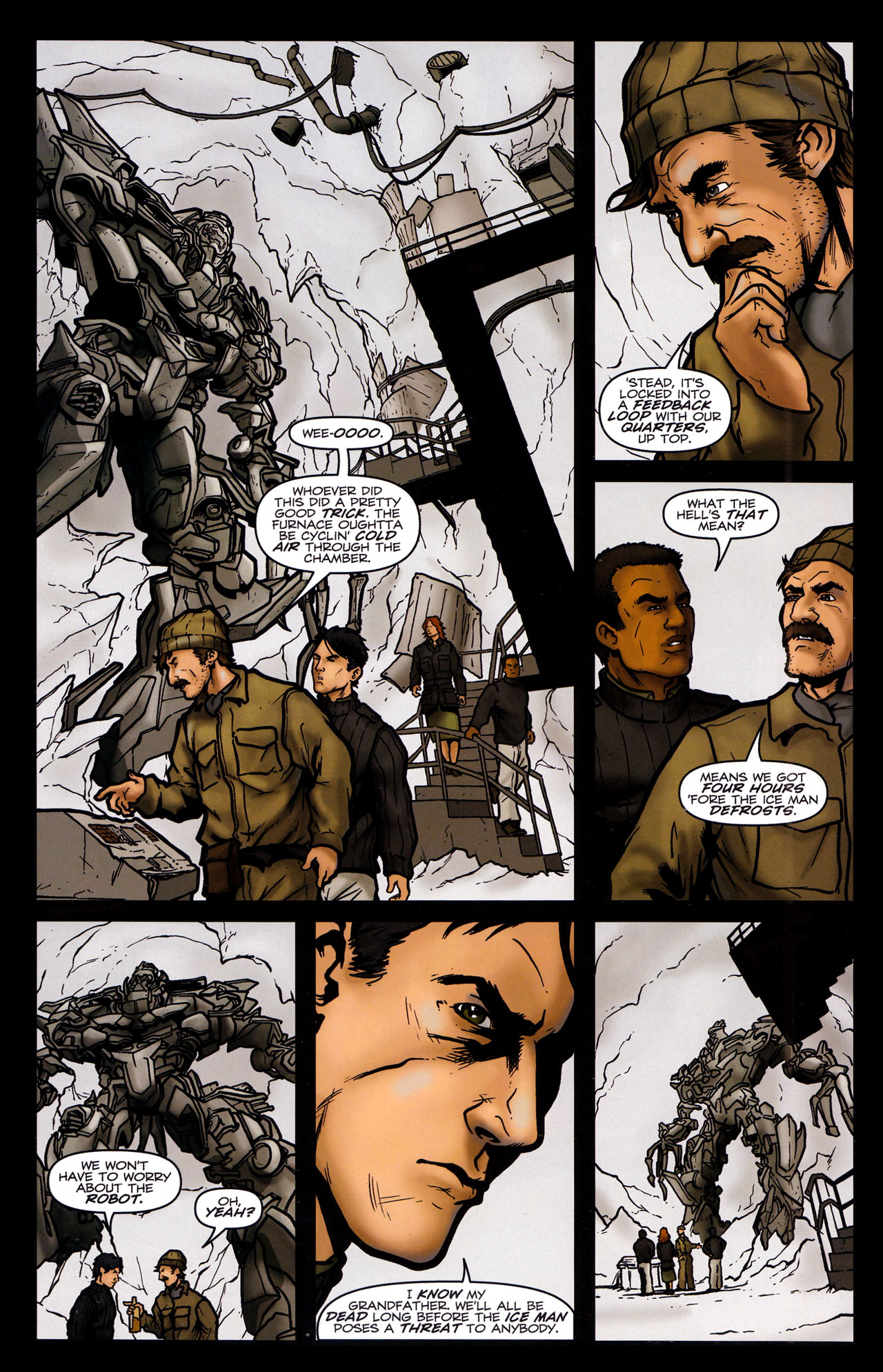 Read online Transformers: Sector 7 comic -  Issue #5 - 7