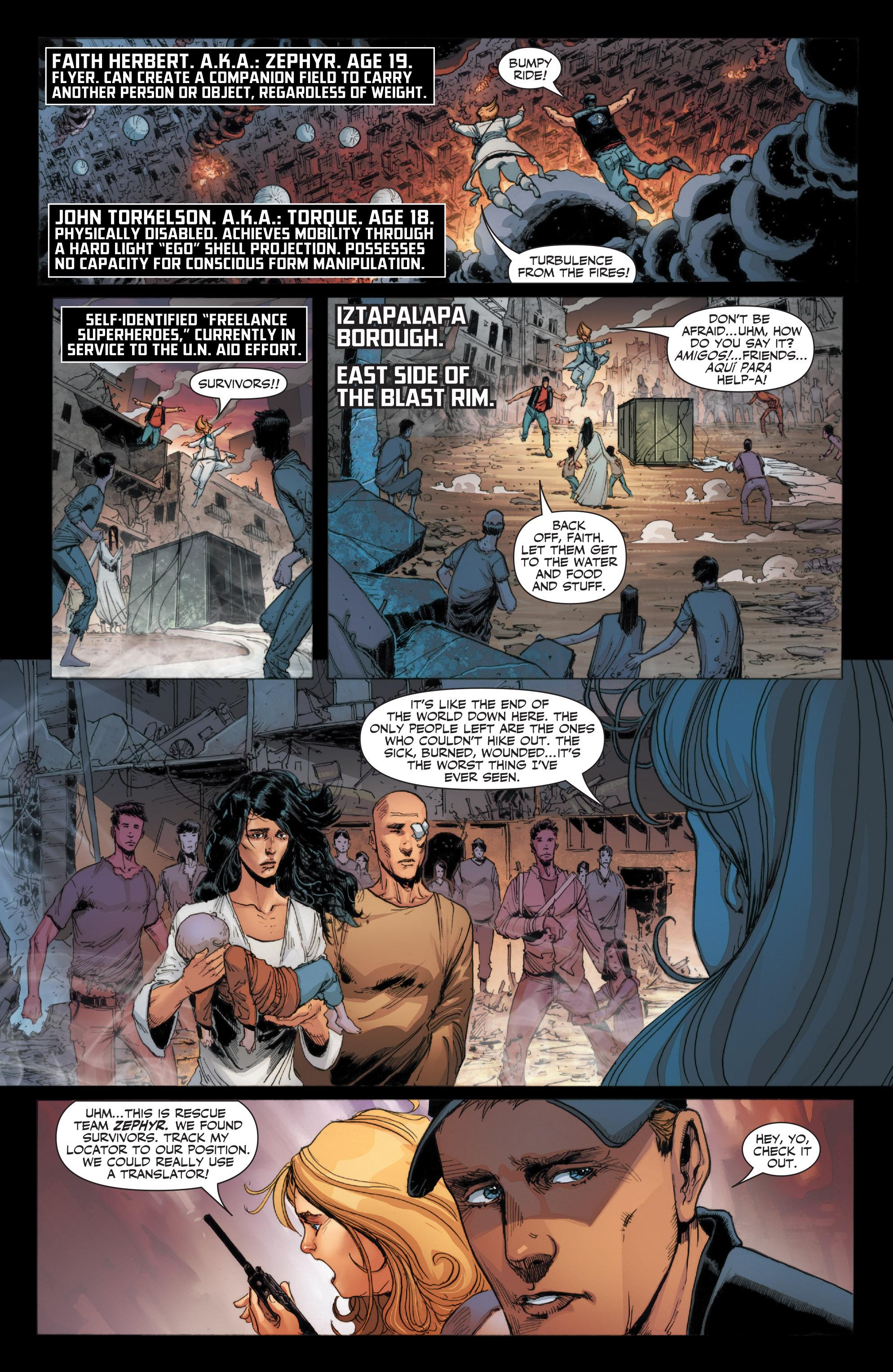 Read online Armor Hunters: Harbinger comic -  Issue # TPB - 17