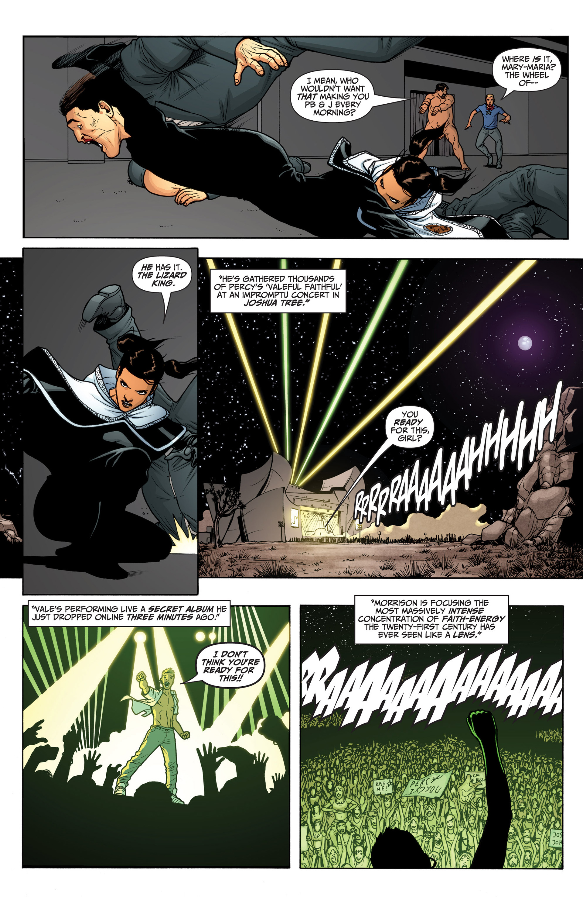 Read online Archer and Armstrong comic -  Issue #23 - 8