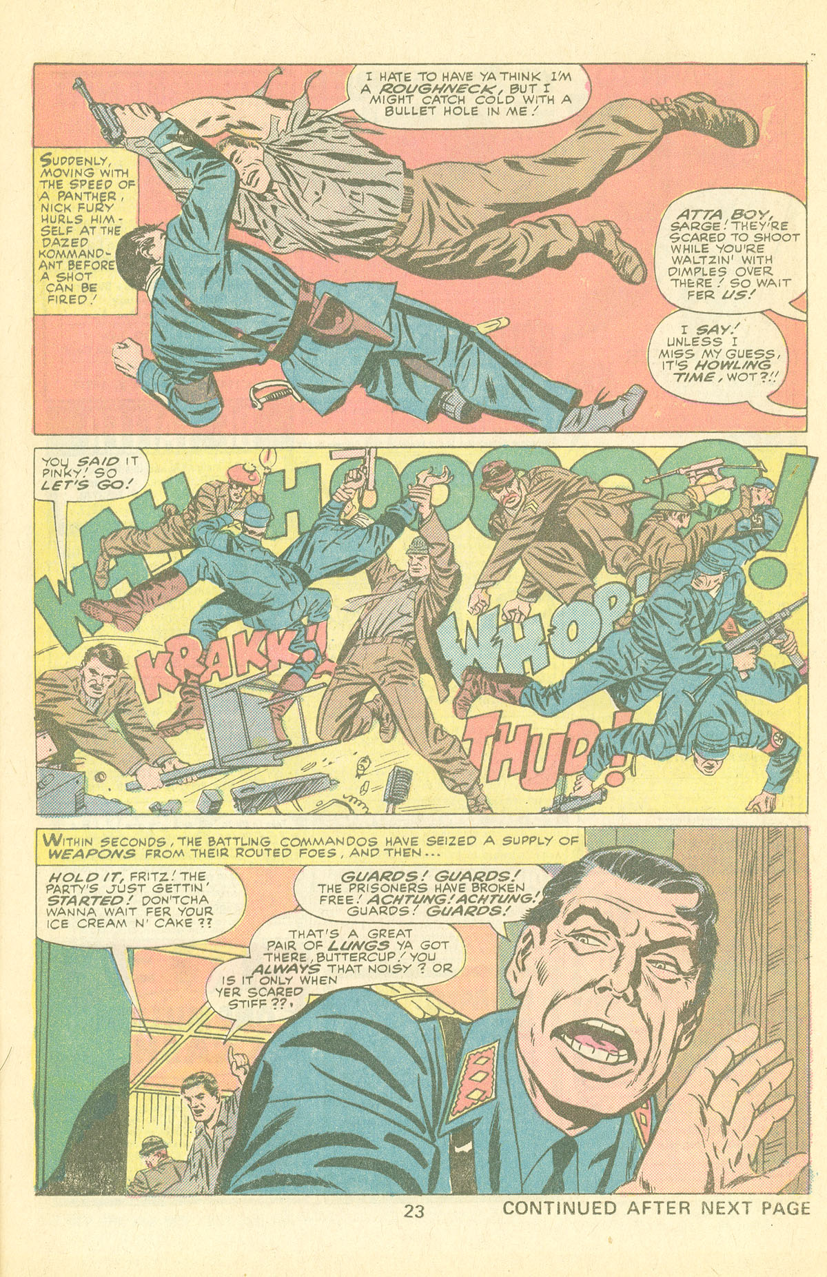 Read online Sgt. Fury comic -  Issue #126 - 25