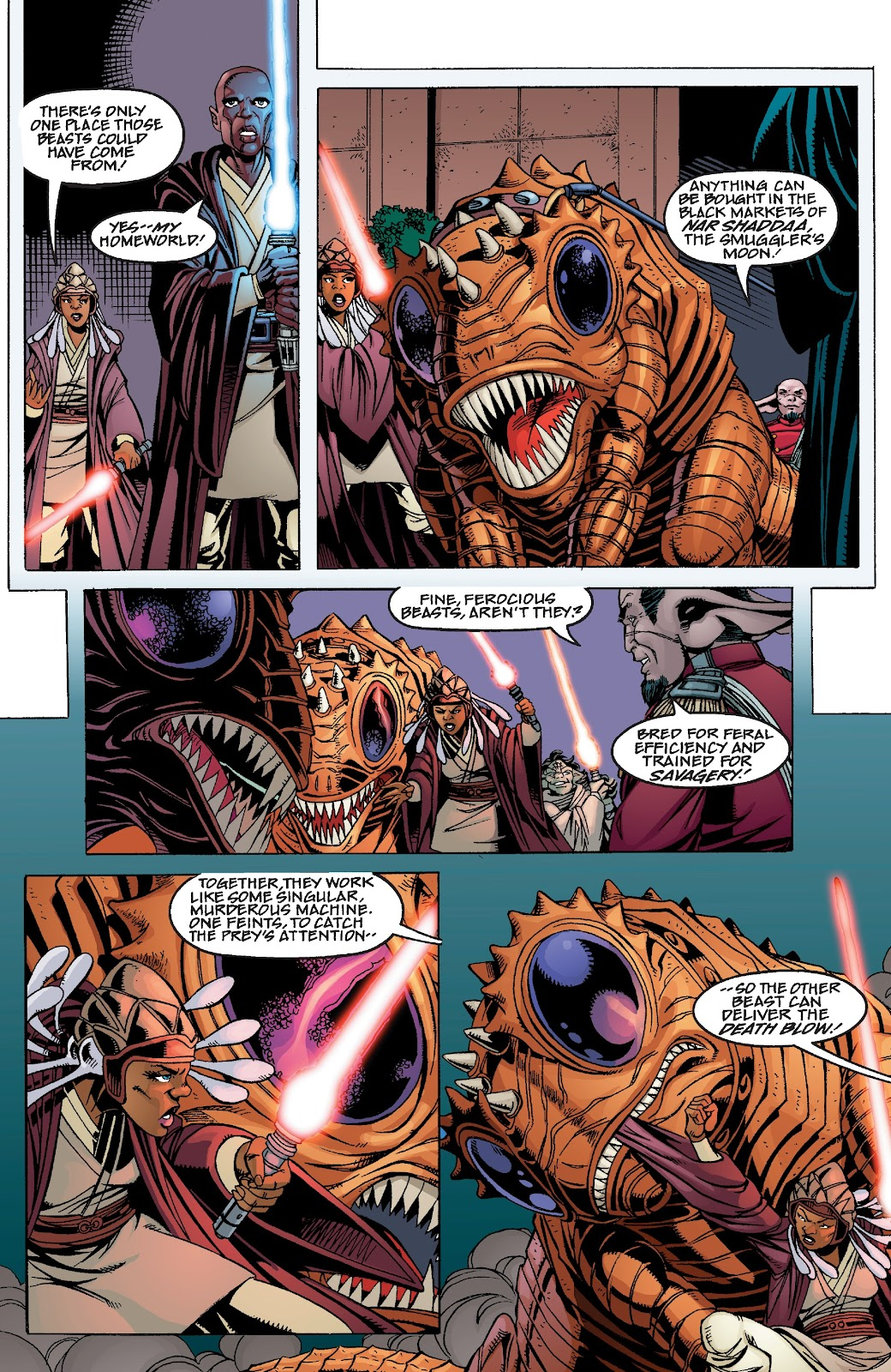 Read online Star Wars Legends Epic Collection: The Menace Revealed comic -  Issue # TPB (Part 4) - 30