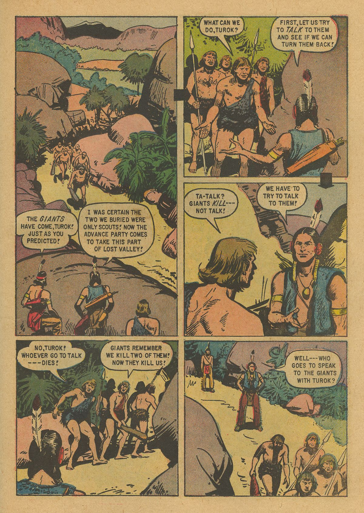 Read online Turok, Son of Stone comic -  Issue #19 - 23