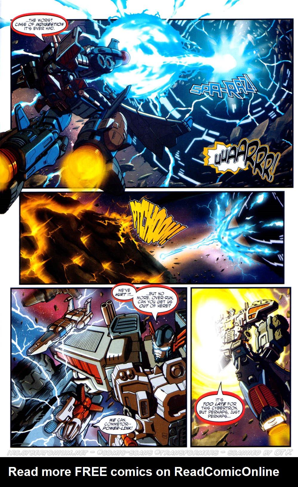 Read online Transformers Armada comic -  Issue #17 - 23