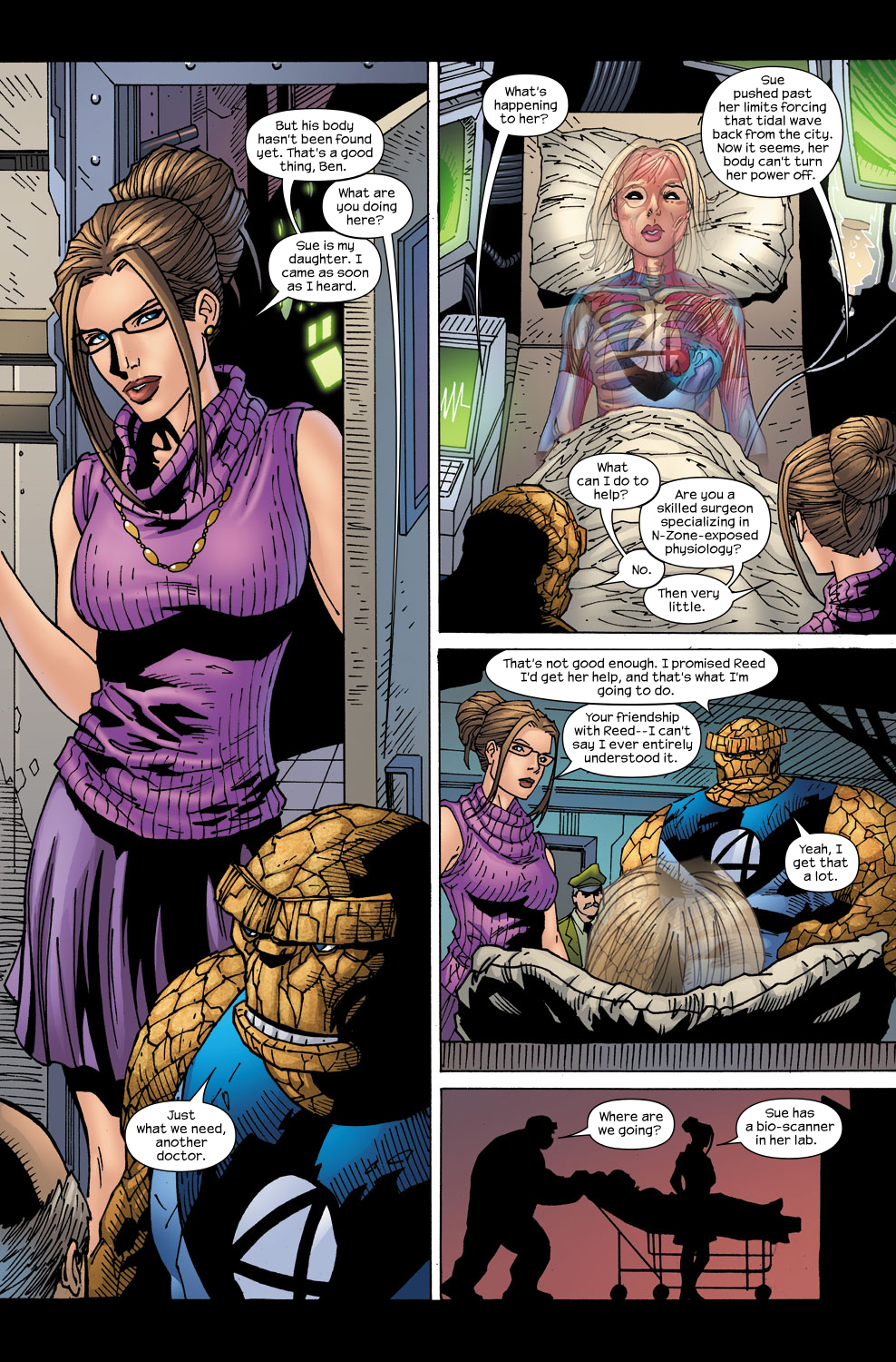 Read online Ultimate Fantastic Four (2004) comic -  Issue #58 - 8