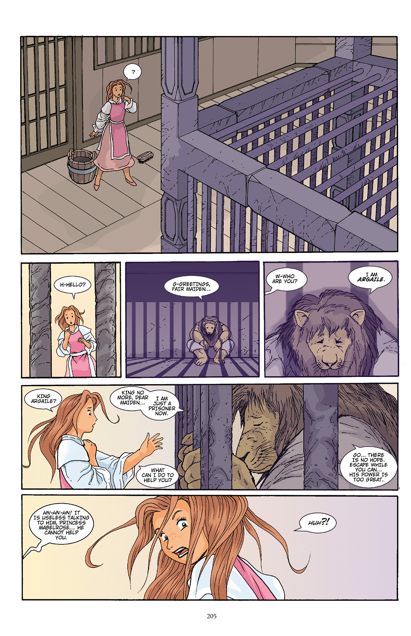 Read online Courageous Princess comic -  Issue # TPB 1 - 202