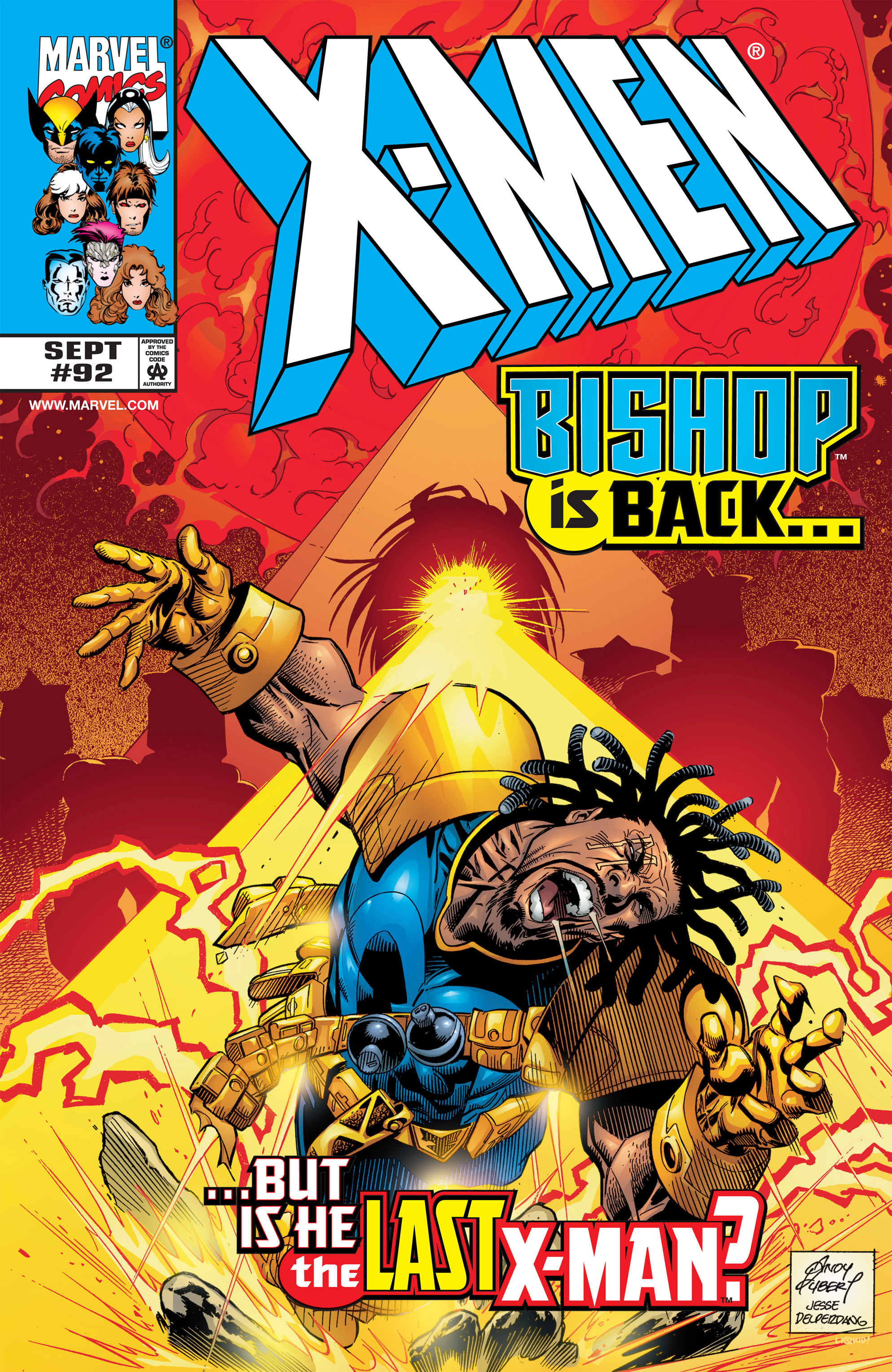 X-Men (1991) 92 Page 0