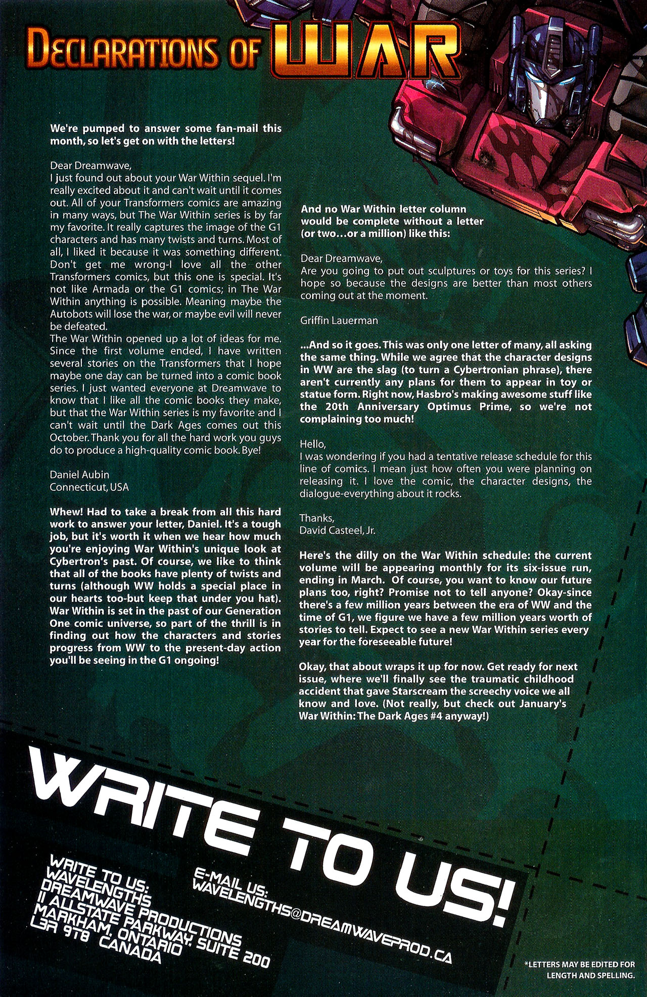 """Read online Transformers War Within: """"The Dark Ages"""" comic -  Issue #3 - 26"""