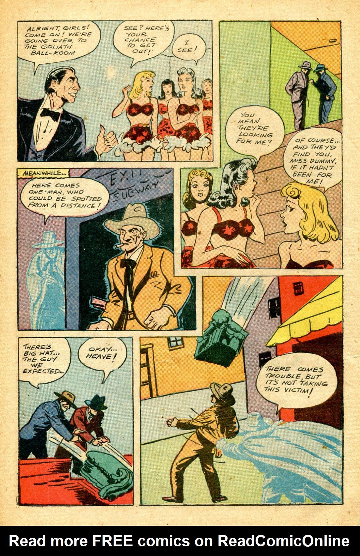 Read online Shadow Comics comic -  Issue #51 - 13
