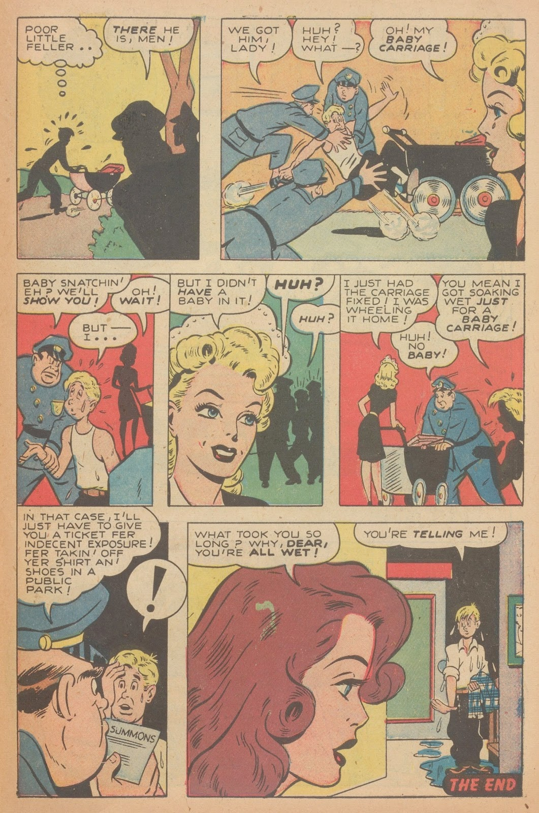Read online Nellie The Nurse (1945) comic -  Issue #11 - 41