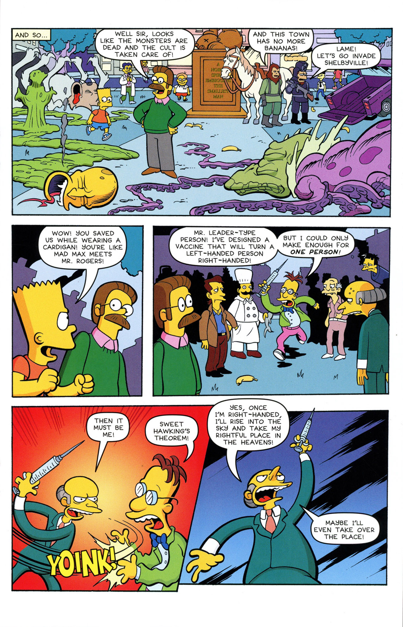 Read online Treehouse of Horror comic -  Issue #21 - 27