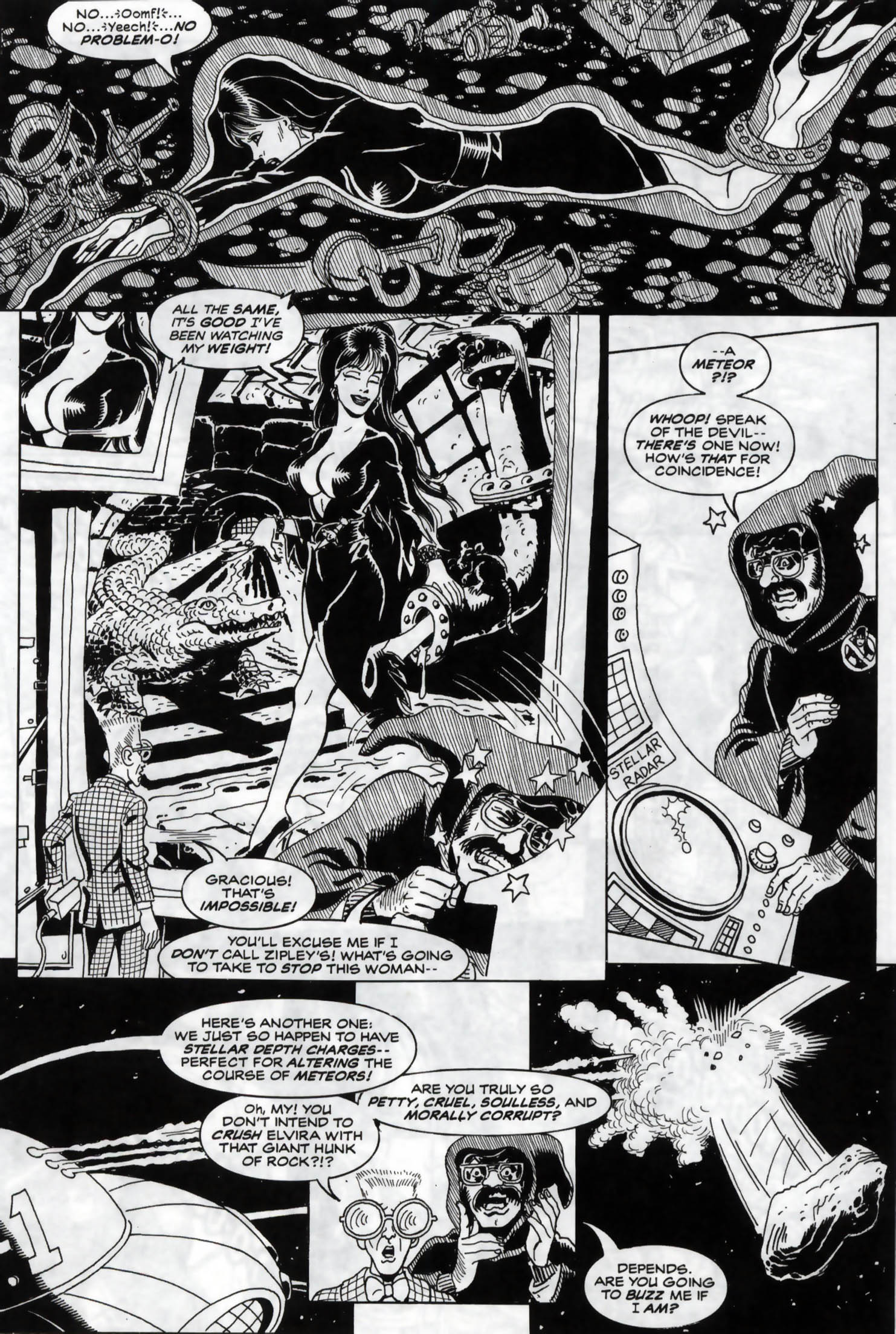 Read online Elvira, Mistress of the Dark comic -  Issue #120 - 15