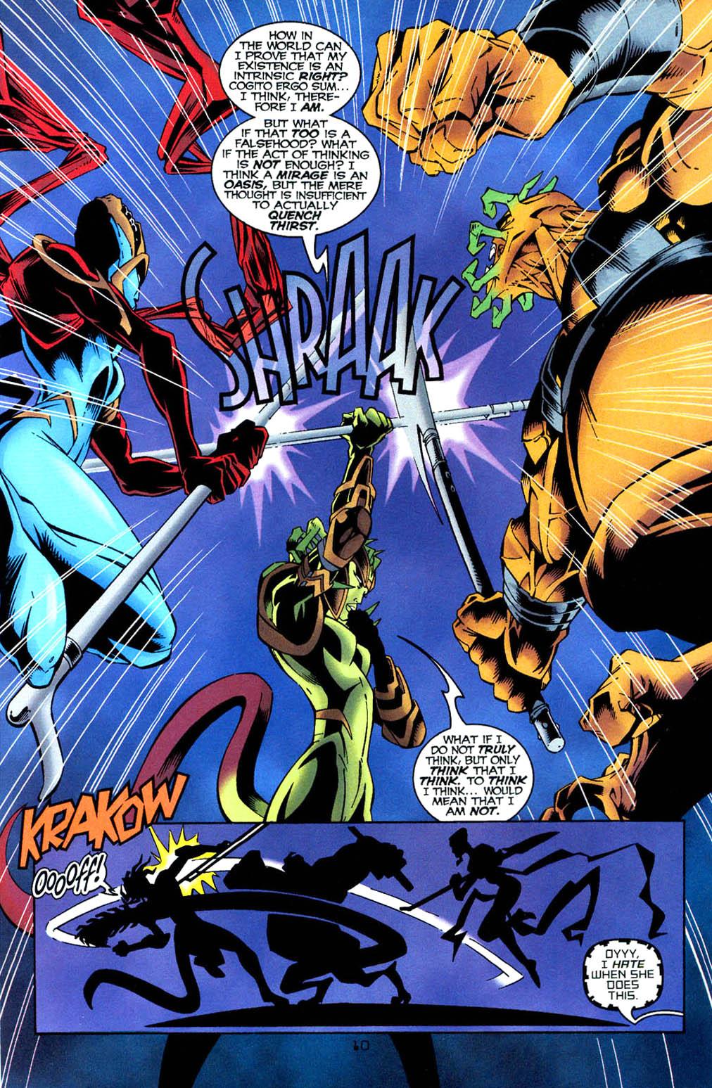 Read online Tangent Comics/ Wonder Woman comic -  Issue # Full - 11