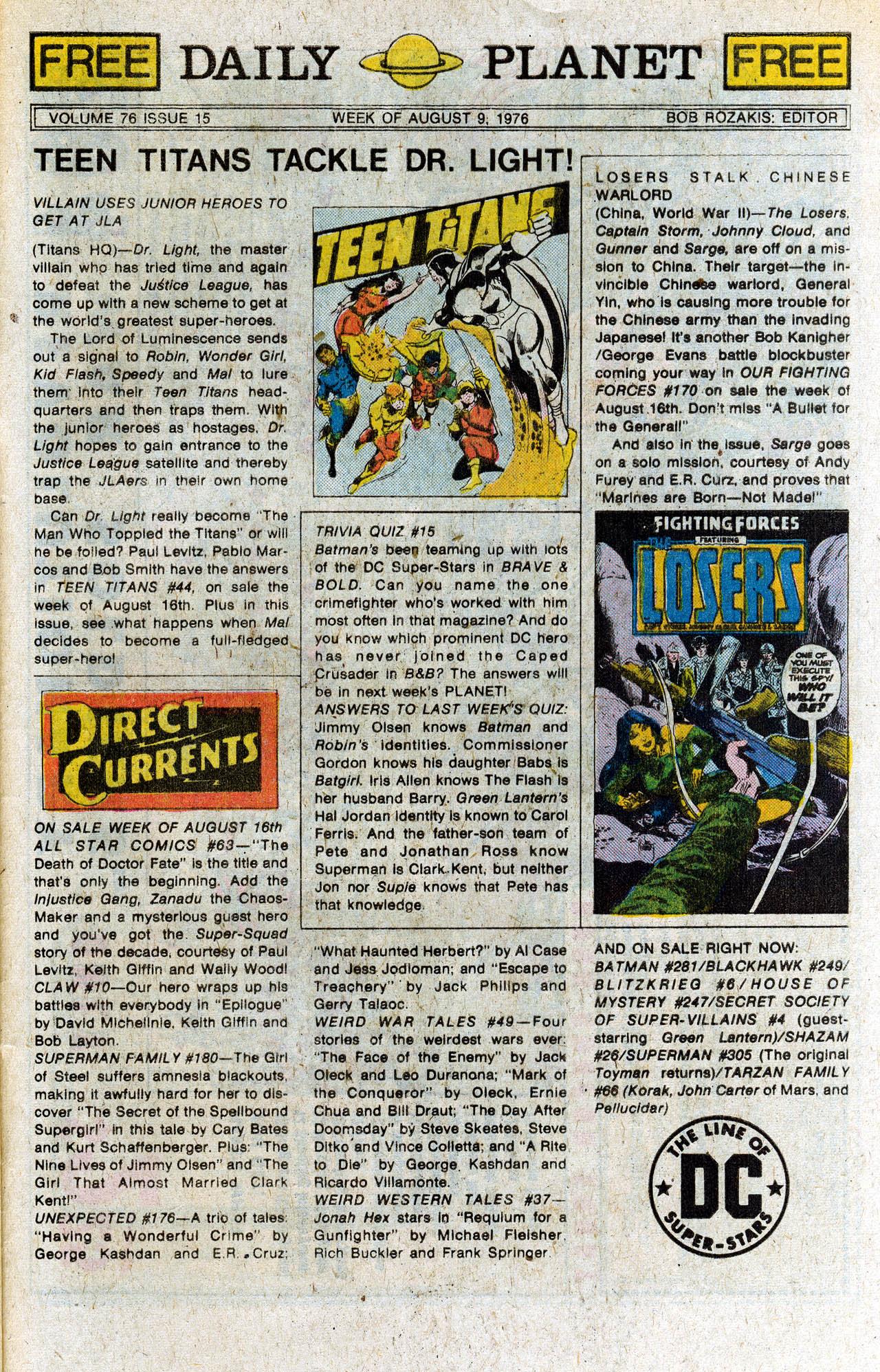 Read online Secret Society of Super-Villains comic -  Issue #4 - 32