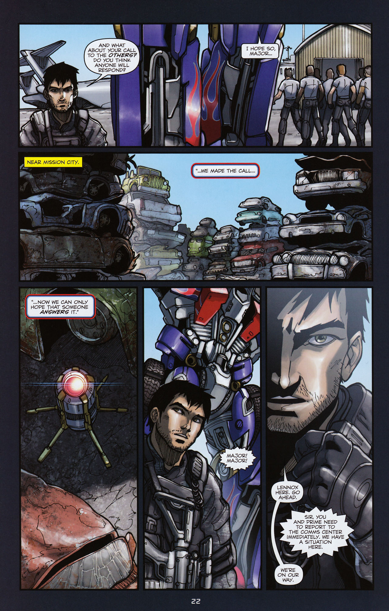 Read online Transformers: Alliance comic -  Issue #3 - 23