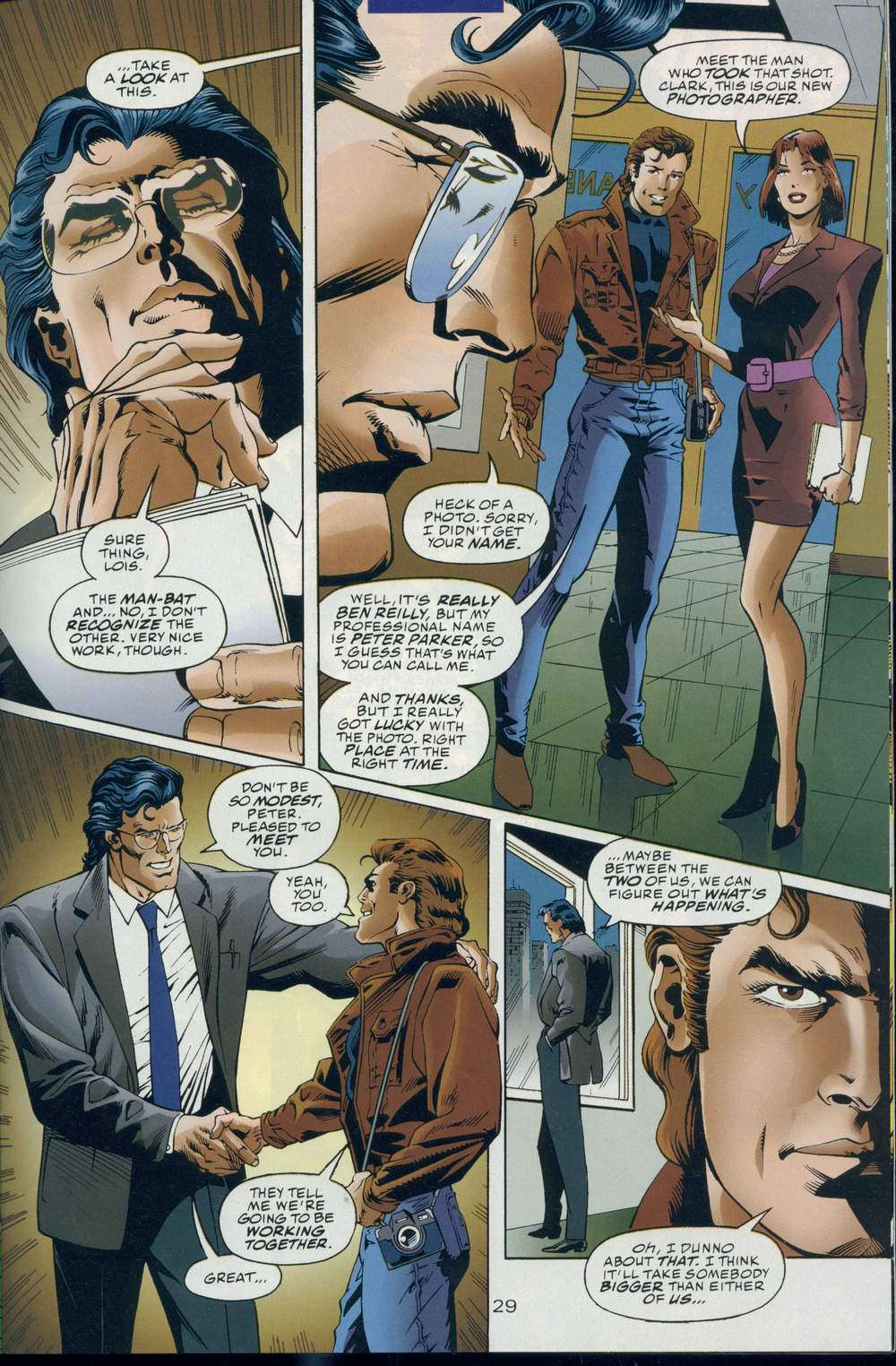 Read online DC Versus Marvel Comics comic -  Issue #1 - 31