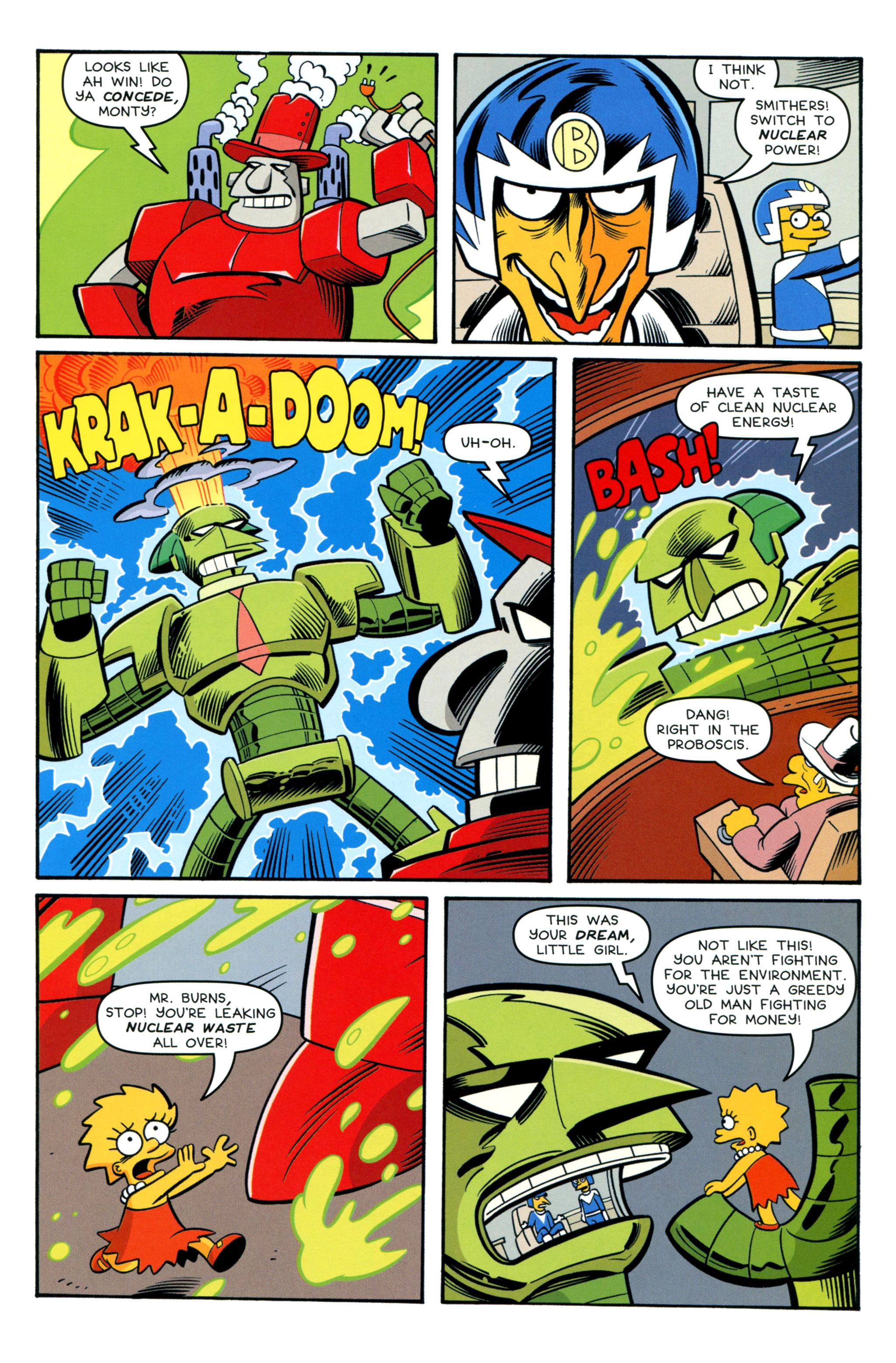 Read online Simpsons Comics comic -  Issue #212 - 19