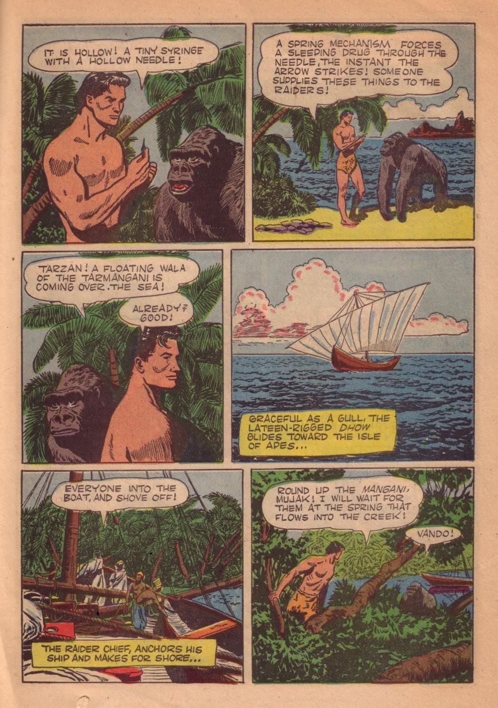Tarzan (1948) issue 55 - Page 35