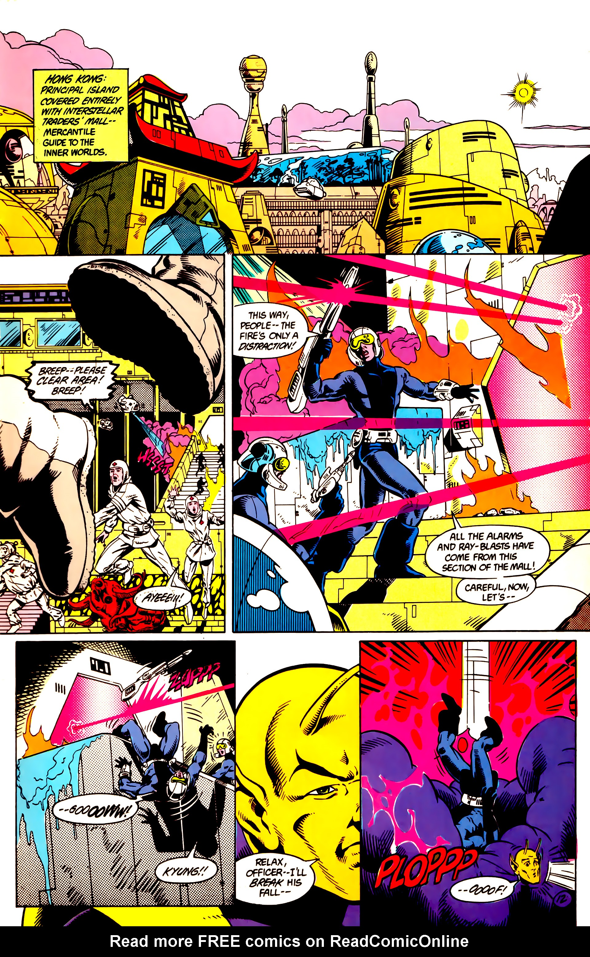 Legion of Super-Heroes (1984) 9 Page 13