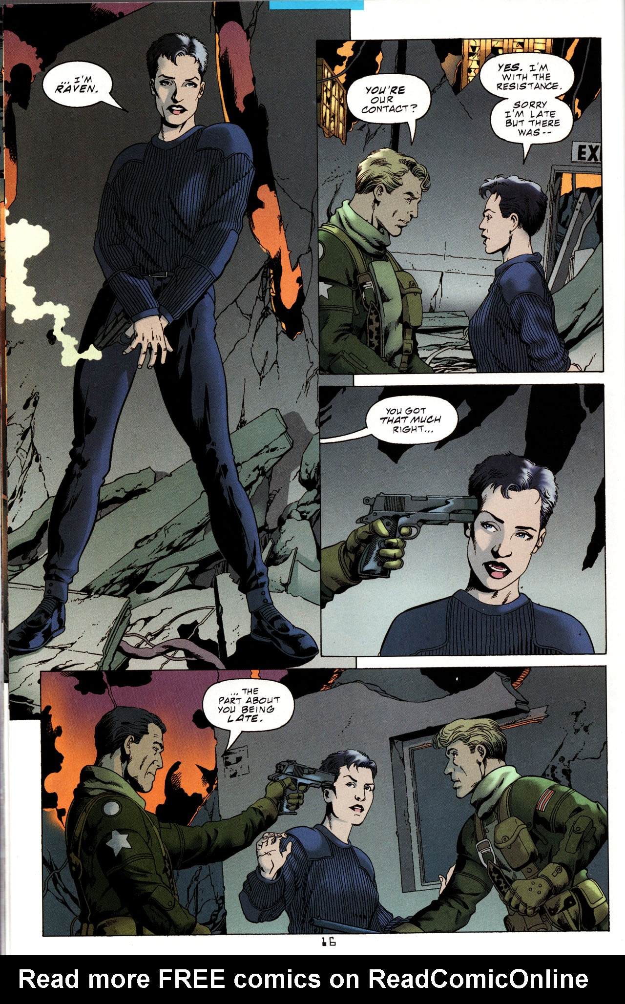 Read online Tangent Comics/ Metal Men comic -  Issue # Full - 15