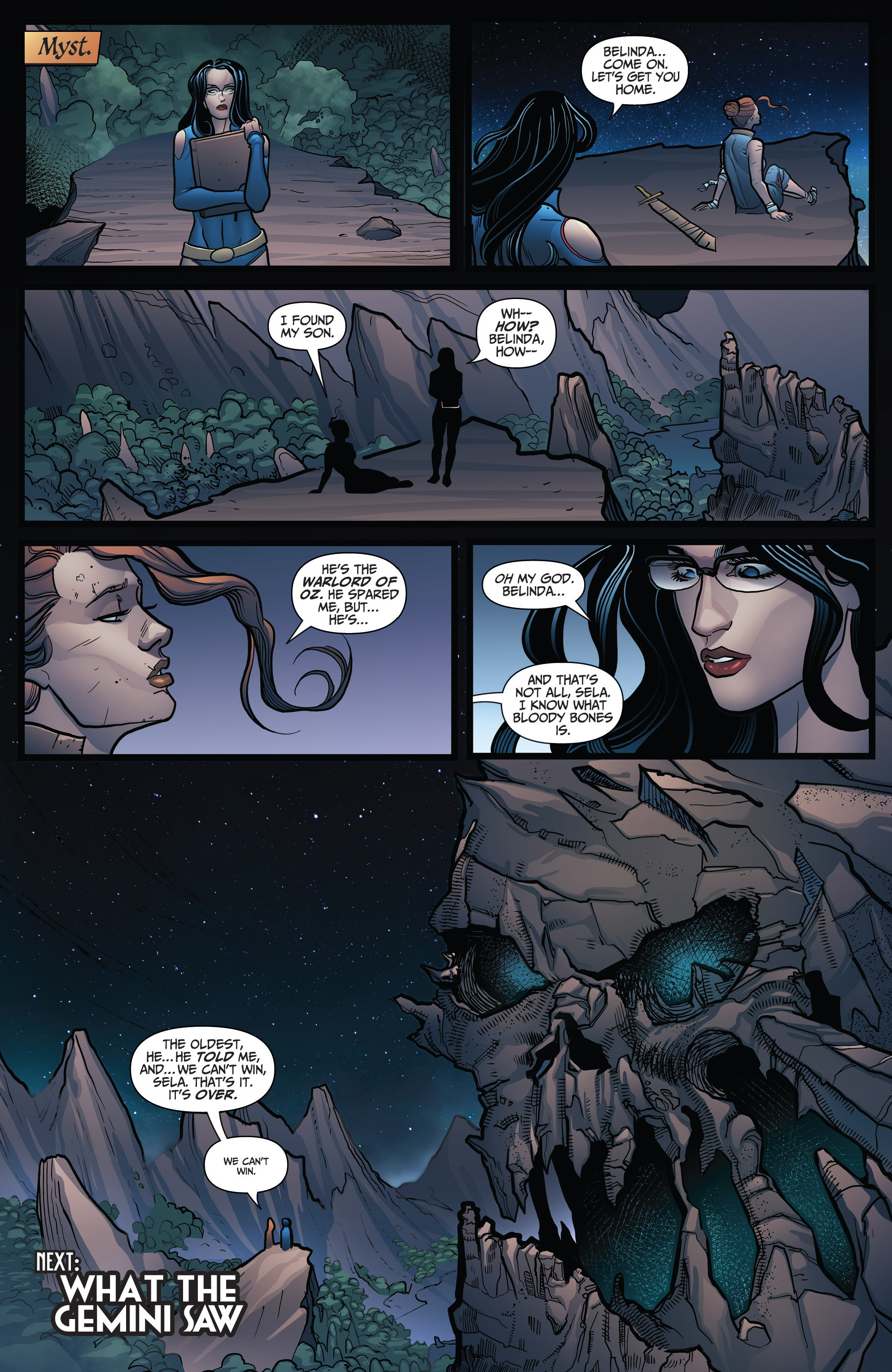 Read online Grimm Fairy Tales: Arcane Acre comic -  Issue # TPB 3 - 142