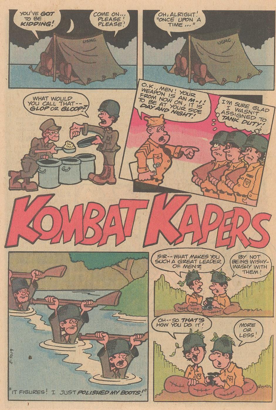 Read online Sgt. Rock comic -  Issue #348 - 23