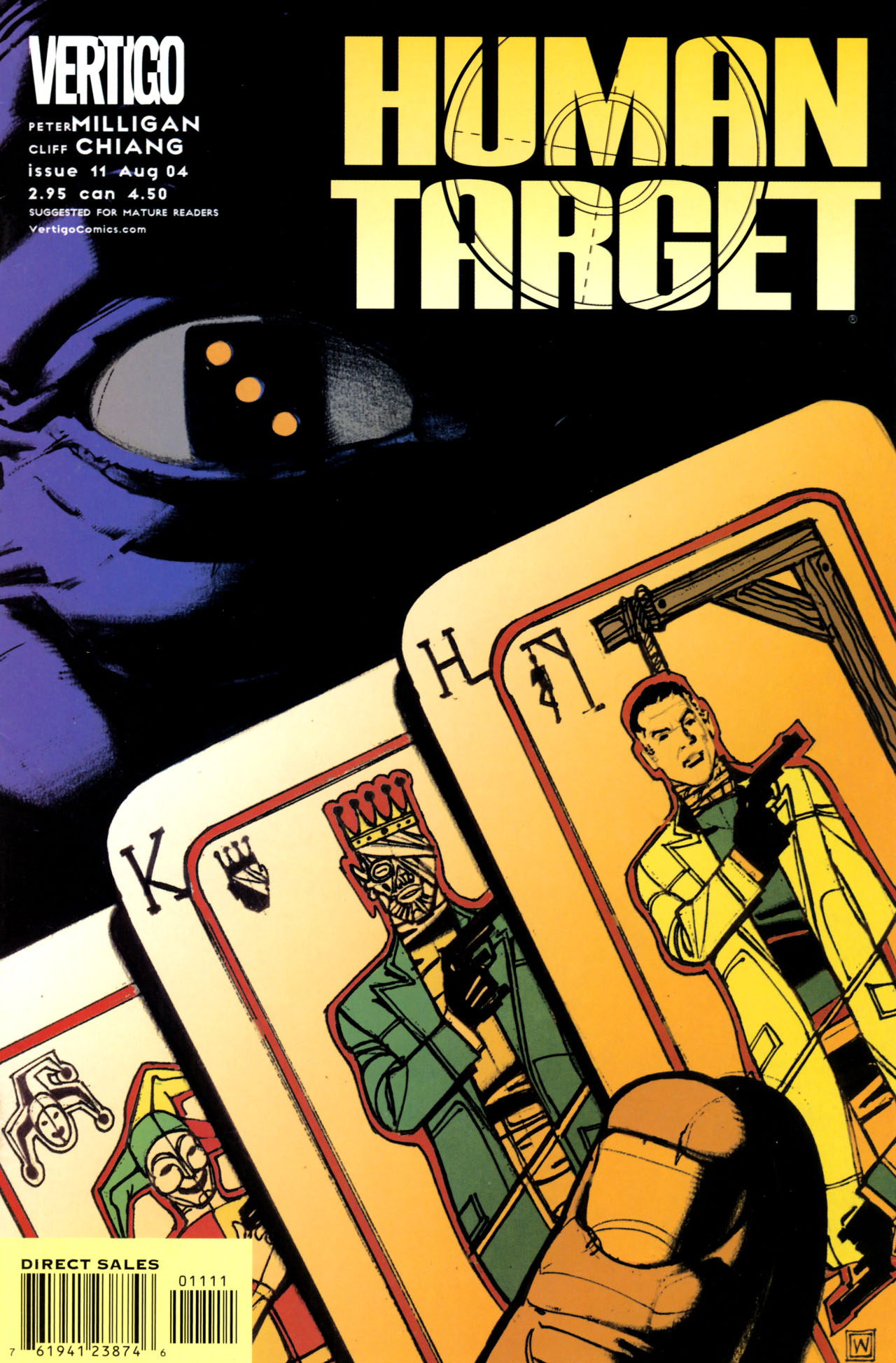Human Target (2003) issue 11 - Page 1