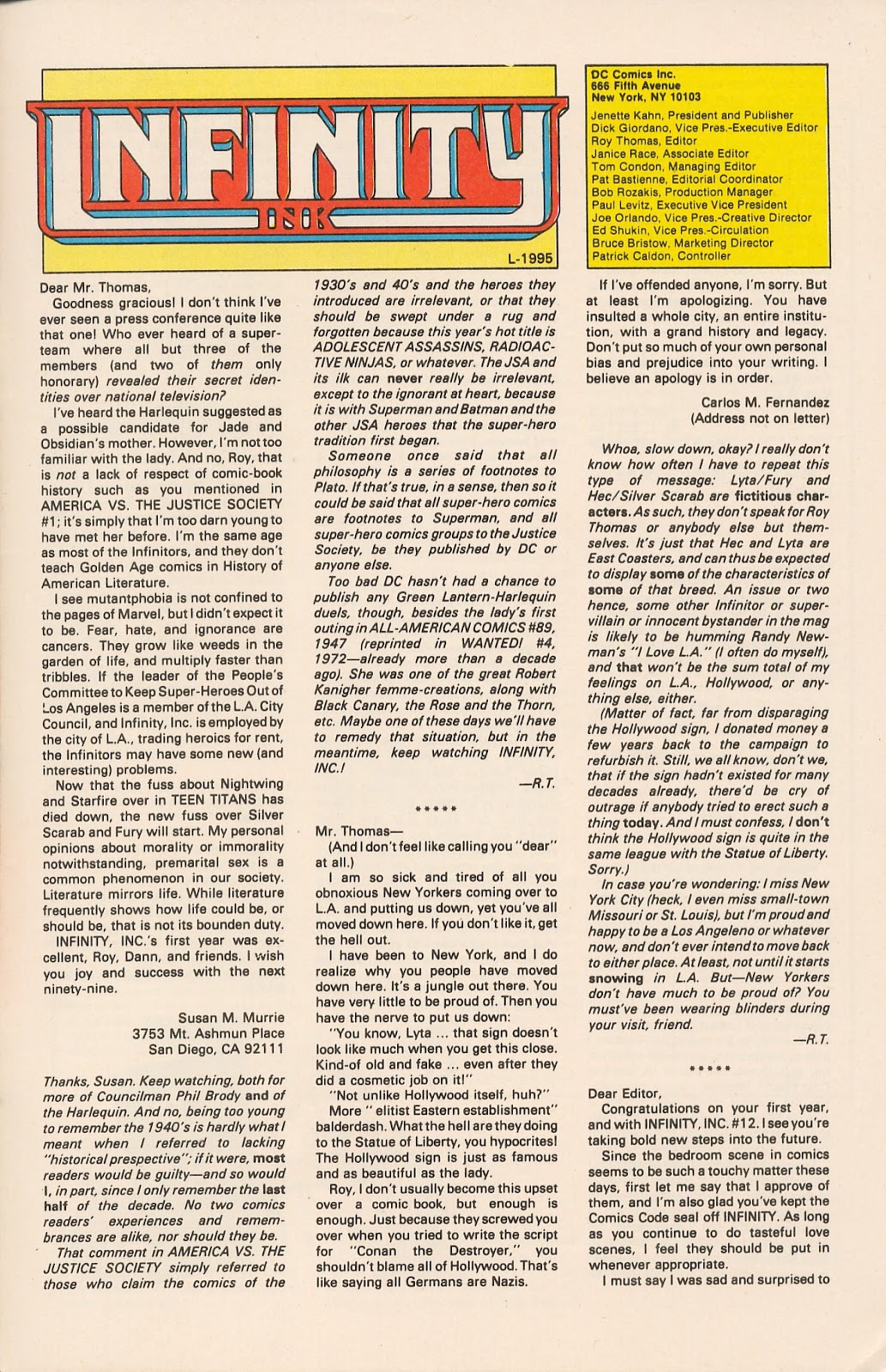 Infinity Inc. (1984) issue 17 - Page 32