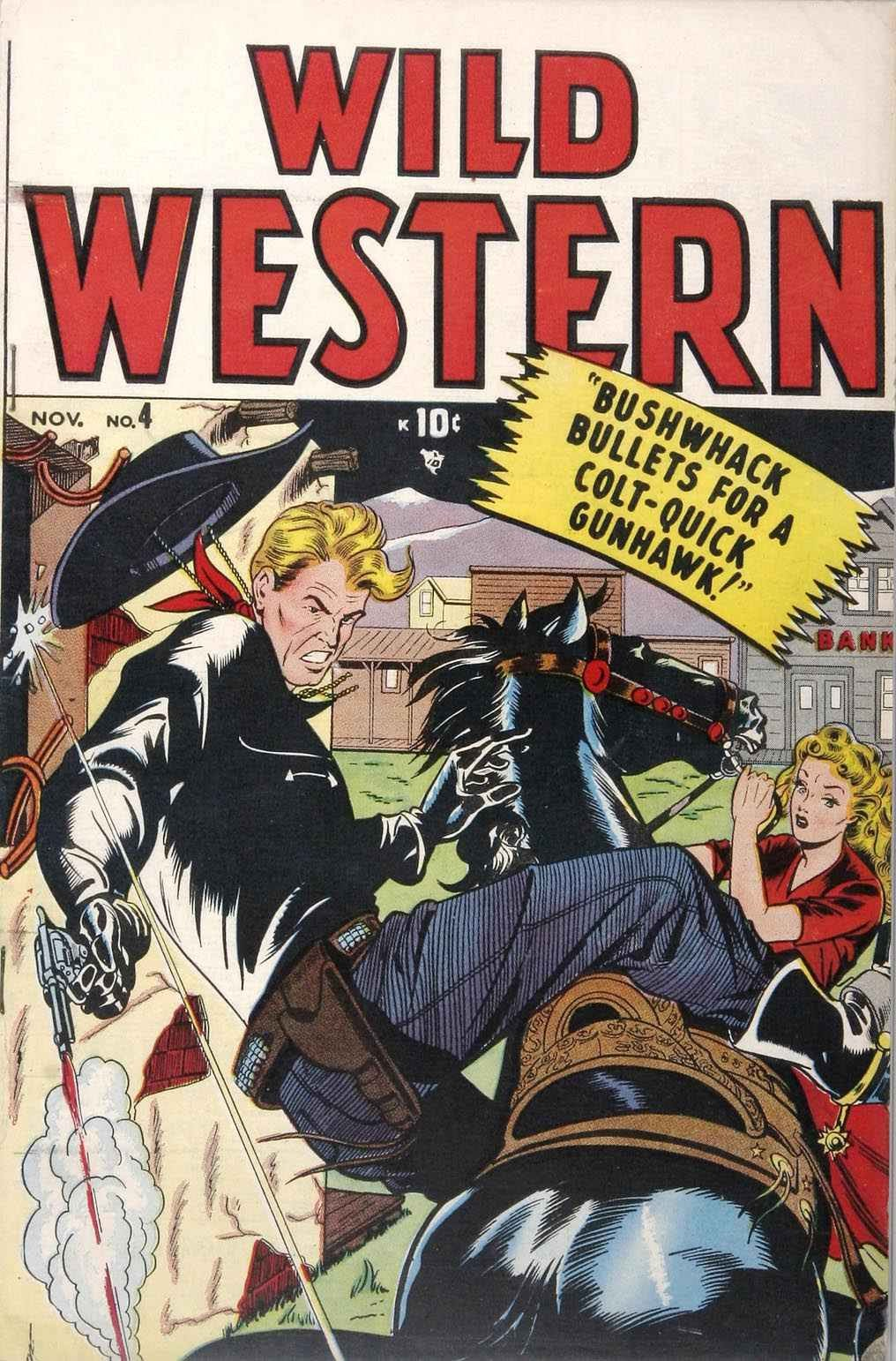 Wild Western 4 Page 1