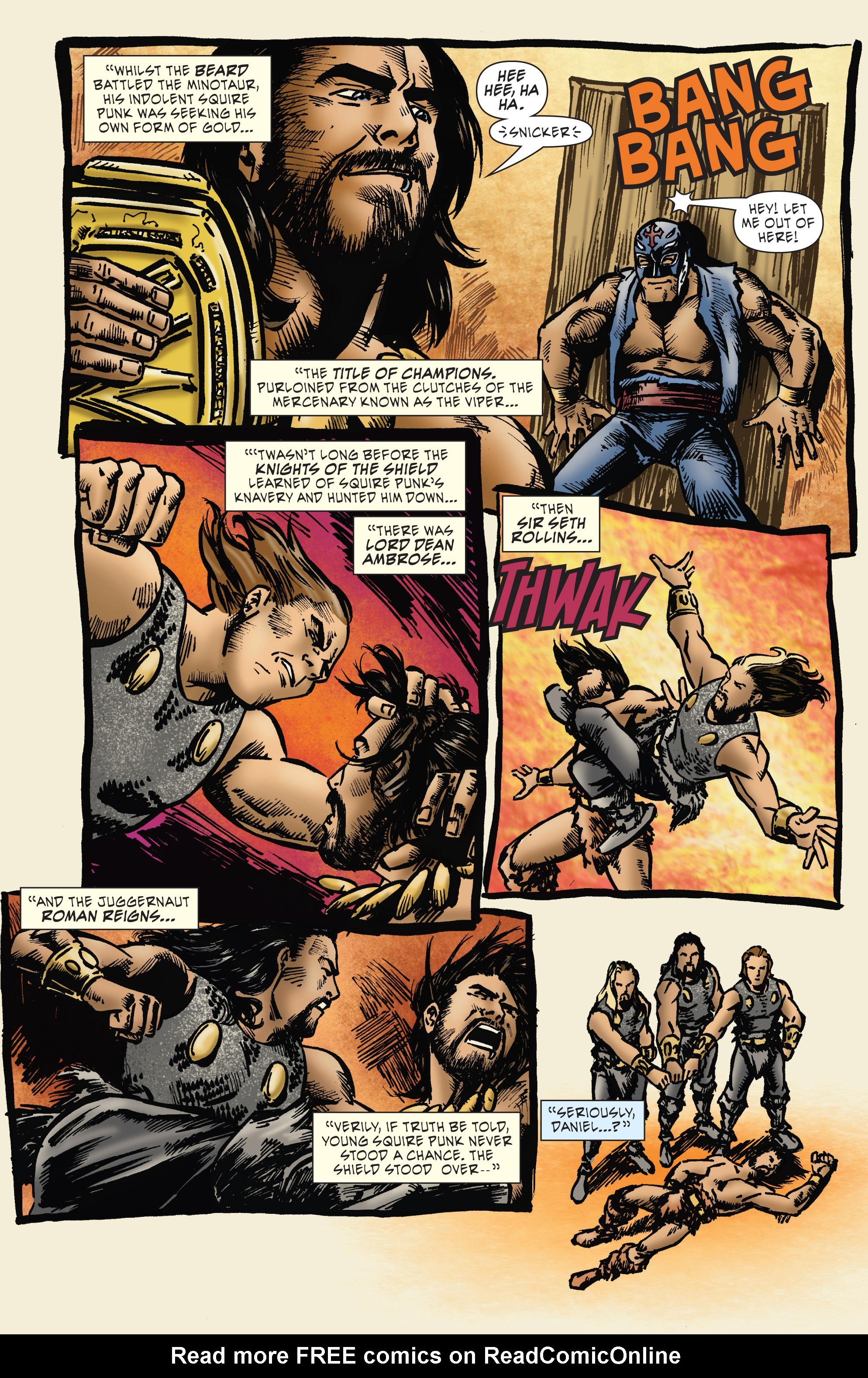 Read online WWE Superstars comic -  Issue #7 - 18
