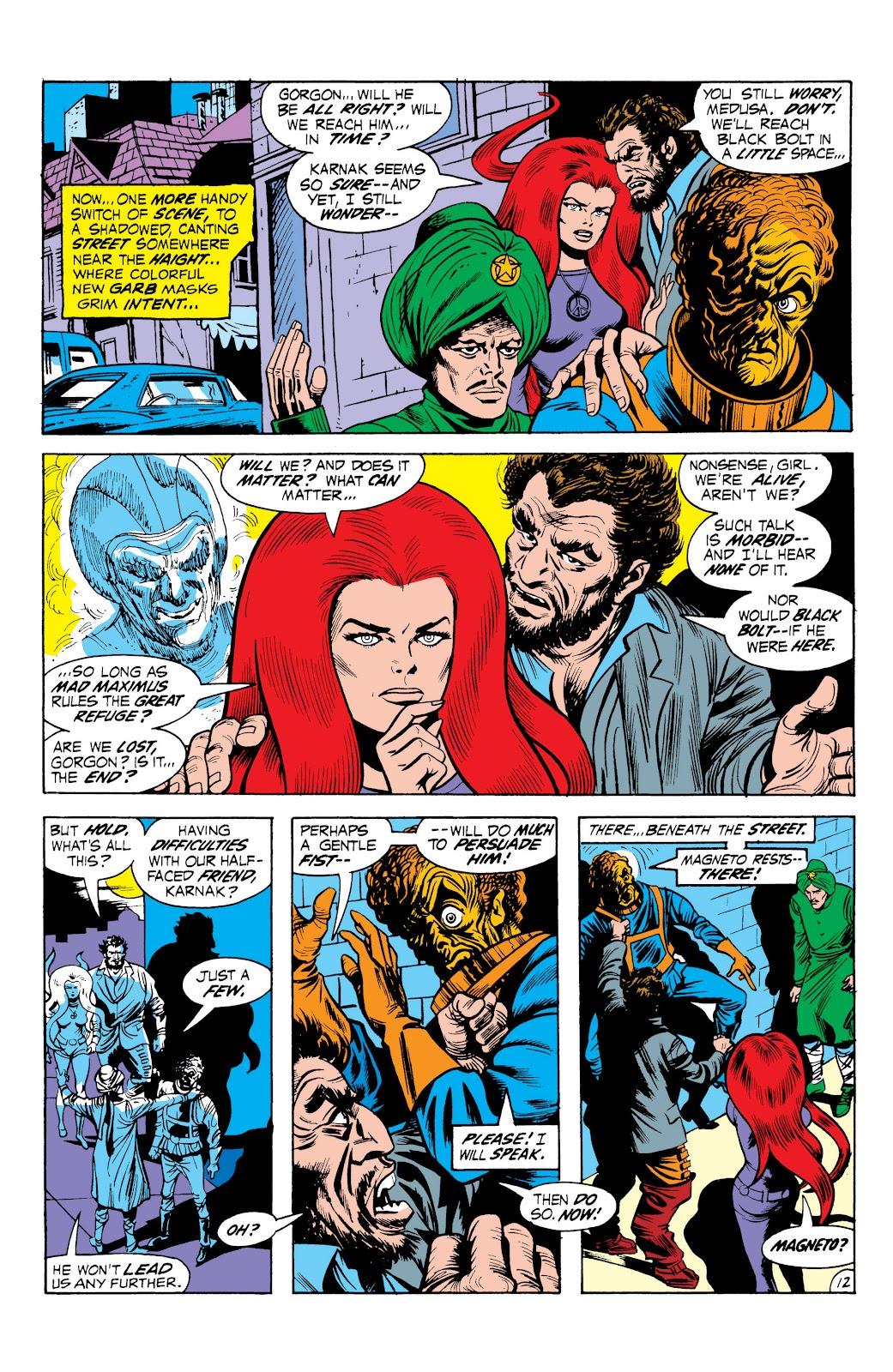 Read online Marvel Masterworks: The Inhumans comic -  Issue # TPB 1 (Part 2) - 69