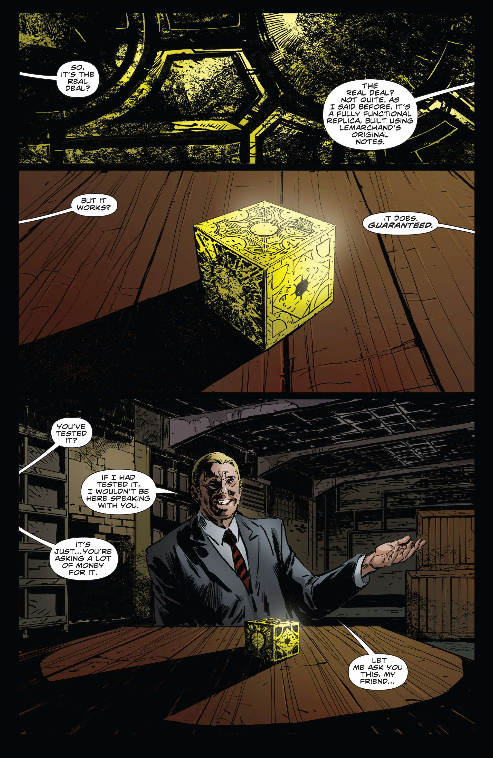 Read online Clive Barker's Hellraiser (2011) comic -  Issue # _Annual 2013 - 11