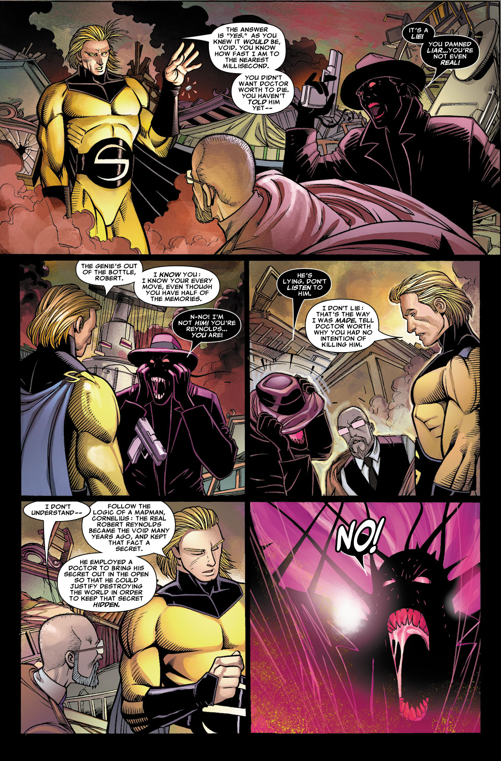 Read online Sentry (2006) comic -  Issue #6 - 4