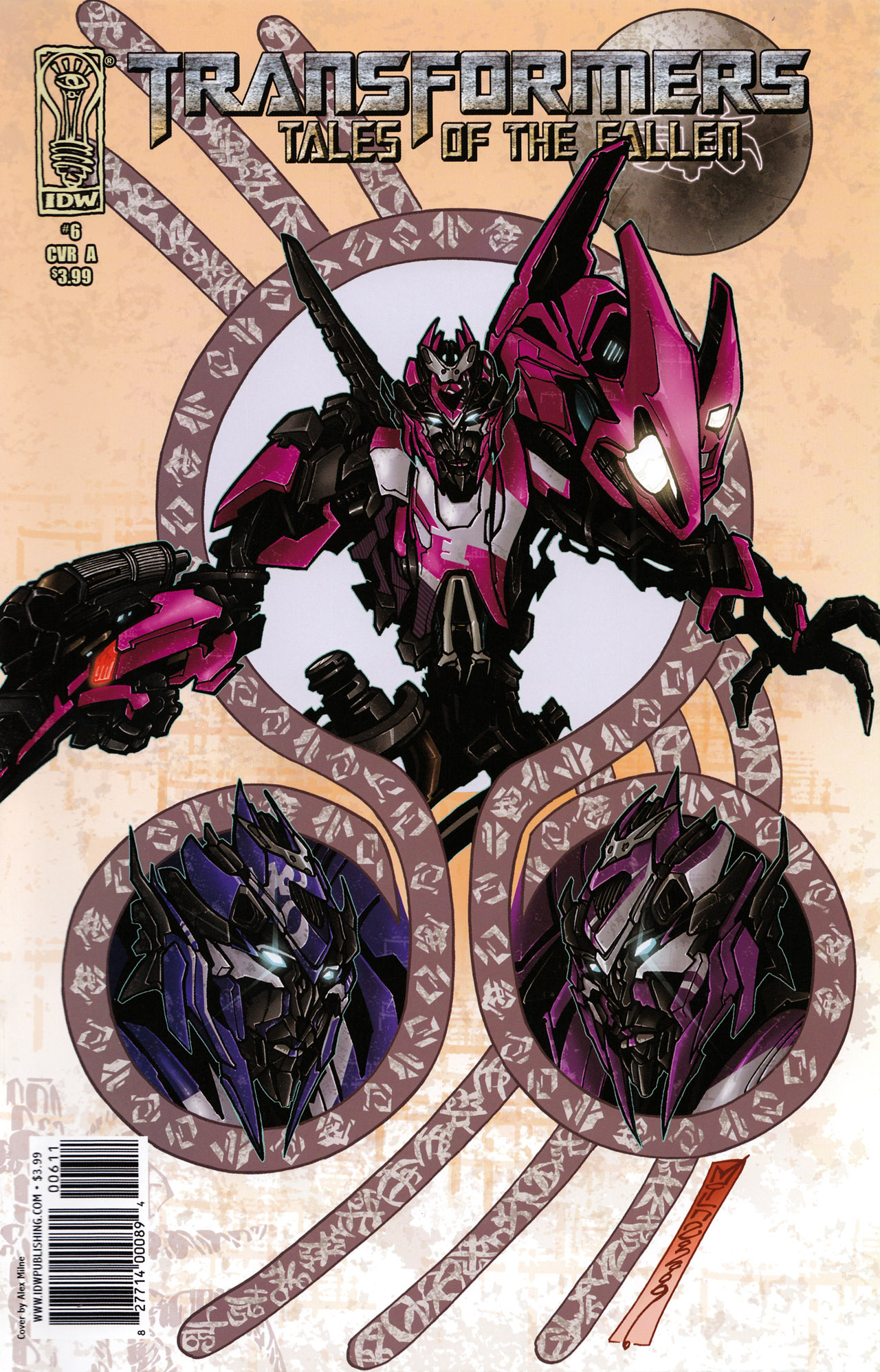 Transformers: Tales of The Fallen 6 Page 1