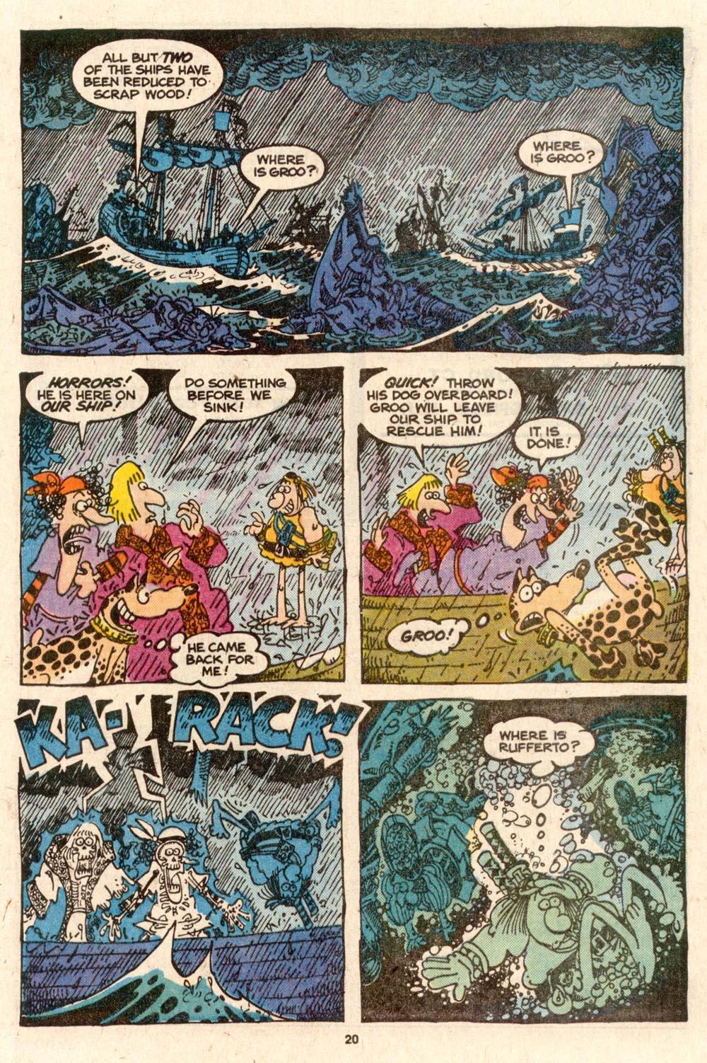 Read online Sergio Aragonés Groo the Wanderer comic -  Issue #54 - 21