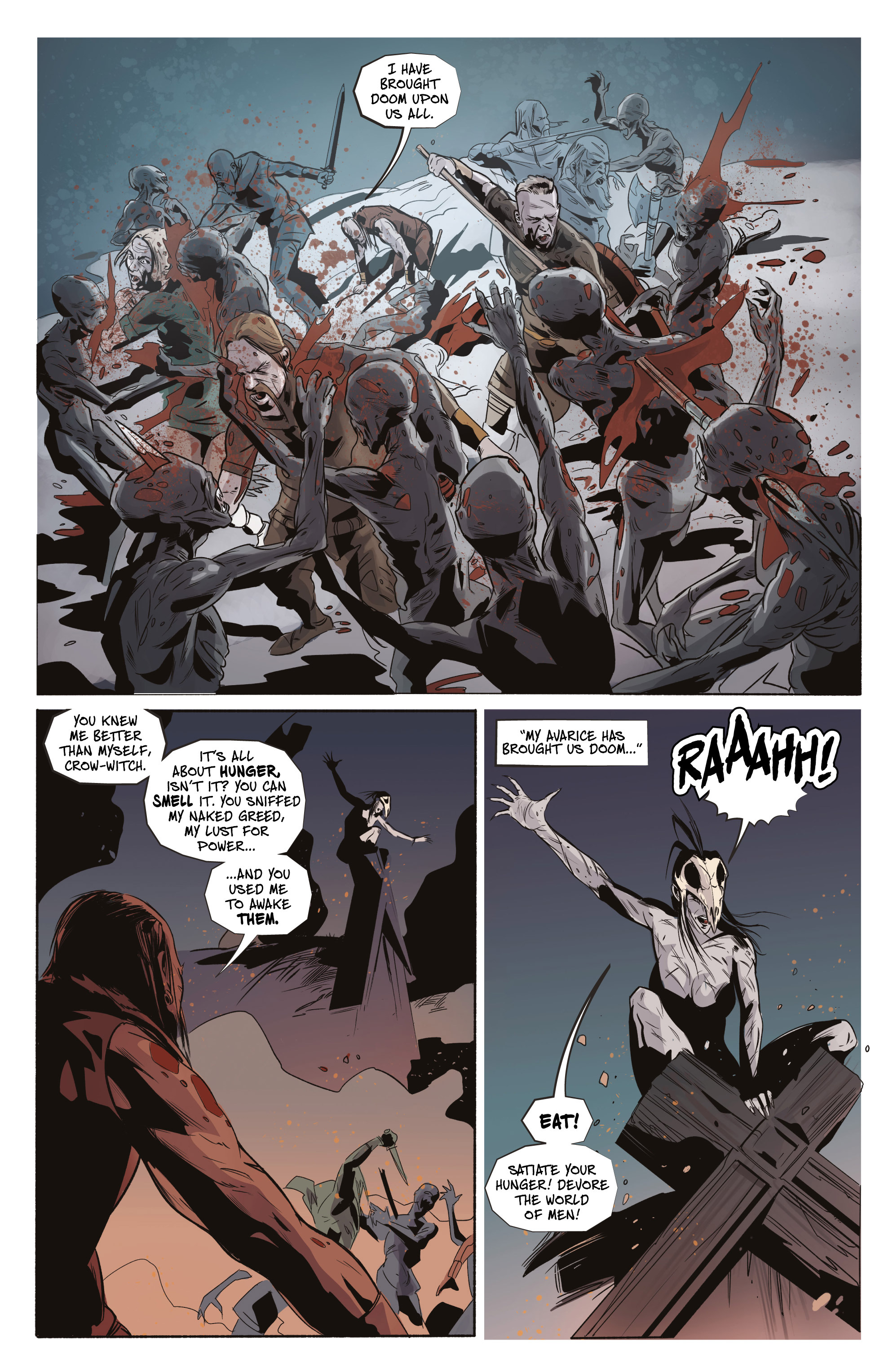 Read online Ghost Wolf comic -  Issue #4 - 6